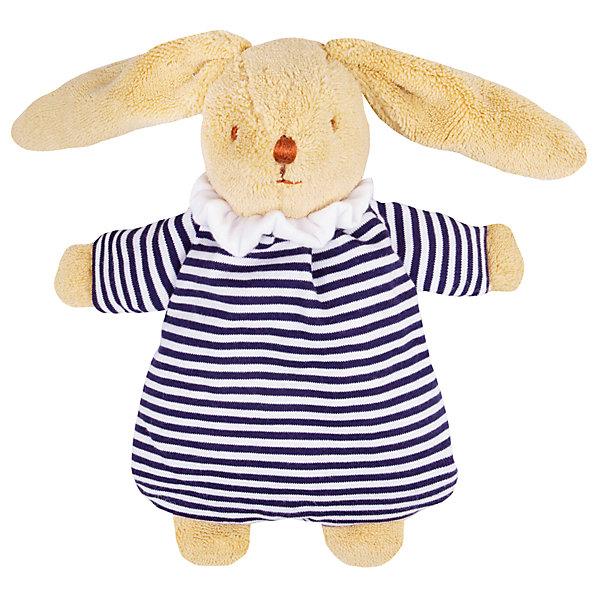 Мягкая погремушка Зайка, 20см&#13;, TrousselierИгрушки для новорожденных<br>Мягкая погремушка Зайка, 20см, Trousselier<br><br>Характеристика:<br><br>-Материалы: текстиль,полиэстер,хлопок<br>-Возраст: от 3 месяцев<br>-Размер: 20 см<br>-Цвет: полосатый<br>-Марка: Trousselier<br><br>Мягкая погремушка Зайка это отличный вариант для самых маленьких. Ребёнок не сможет пораниться. Вся погремушка выглядит, как плюшевая игрушка. Выполнена она в виде зайчика в полосатом костюмничке. Погремушка будет развивать слух, внимание и цветовое восприятие.<br><br>Мягкая погремушка Зайка, 20см, Trousselier можно приобрести в нашем интернет-магазине.<br><br>Ширина мм: 155<br>Глубина мм: 155<br>Высота мм: 70<br>Вес г: 130<br>Возраст от месяцев: -2147483648<br>Возраст до месяцев: 2147483647<br>Пол: Унисекс<br>Возраст: Детский<br>SKU: 4964802