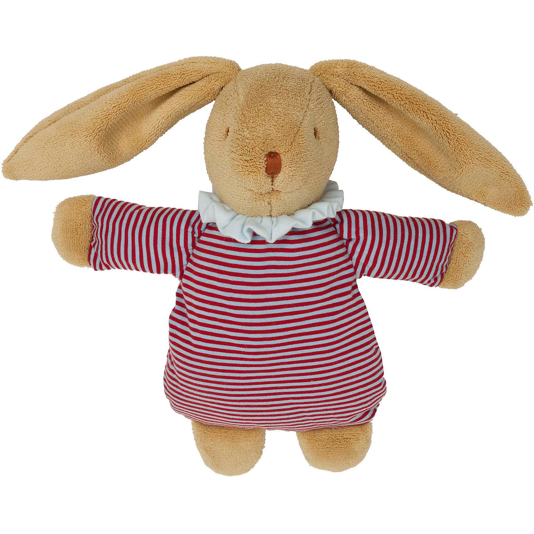 Мягкая игрушка Зайка с кармашком, в полоску, 32см&#13;, TrousselierМягкая игрушка Зайка с кармашком, в полоску, 32см, Trousselier<br><br>Характеристики:<br><br>• Размер: 32 см<br>• Цвет: коричневый, мульти<br>• Материал: текстиль, полиэстер, хлопок<br>• Возраст: от 0 месяцев<br><br>Веселый зайчик в платье станет другом для вашего малыша. Натуральный материал не вызывает аллергию и полностью безопасен для нежной кожи. Малыш сможет спать с зайкой, с первых дней своей жизни. Кроме того у зайки есть кармашек, который подрастающий малыш сможет использовать как первый тайник.<br><br>Мягкая игрушка Зайка с кармашком, в полоску, 32см, Trousselier можно купить в нашем интернет-магазине.<br><br>Ширина мм: 350<br>Глубина мм: 205<br>Высота мм: 80<br>Вес г: 350<br>Возраст от месяцев: -2147483648<br>Возраст до месяцев: 2147483647<br>Пол: Унисекс<br>Возраст: Детский<br>SKU: 4964804