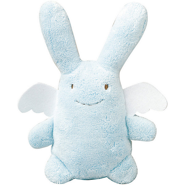 Мягкая игрушка Зайка с крылышками, музыкальный, голубой, 24смМузыкальные мягкие игрушки<br>Мягкая игрушка Зайка с крылышками, музыкальный, голубой, 24см, Trousselier (Трусельер).<br><br>Характеристики:<br><br>- Высота игрушки: 24 см.<br>- Материал: хлопковый велюр<br>- Цвет: голубой<br>- Уход: возможна ручная стирка игрушки<br><br>Игрушка представляет собой очаровательного, очень мягкого зайчика с ангельскими крылышками. Зайчик выполнен в приятном голубом цвете, крылышки в белом – сочетание этих цветов смотрится очень органично, создавая нежный образ в лаконичном дизайне. Зайчик мило улыбается и раскинул лапки в сторону, как будто только и ждет, чтобы его обняли. Игрушка имеет музыкальный блок, который может воспроизводить нежную мелодию, если нажать на туловище зайки. Зайчика очень удобно держать маленькому ребенку. Его можно укладывать спать вместе с малышом в коляску или кроватку. С таким другом кроха будет быстрее погружаться в мир снов и спокойнее спать. Игрушка изготовлена из мягкого, приятного на ощупь, гипоаллергенного материала - хлопкового велюра. Французский бренд Trousselier (Трусельер) вот уже более 40 лет создает уникальные коллекции детских игрушек. Вся продукция изготавливается из натуральных материалов с соблюдением высоких европейских стандартов качества.<br><br>Мягкую игрушку Зайка с крылышками, музыкальную, голубую, 24см, Trousselier (Трусельер) можно купить в нашем интернет-магазине.<br>Ширина мм: 190; Глубина мм: 190; Высота мм: 90; Вес г: 290; Возраст от месяцев: -2147483648; Возраст до месяцев: 2147483647; Пол: Унисекс; Возраст: Детский; SKU: 4964808;