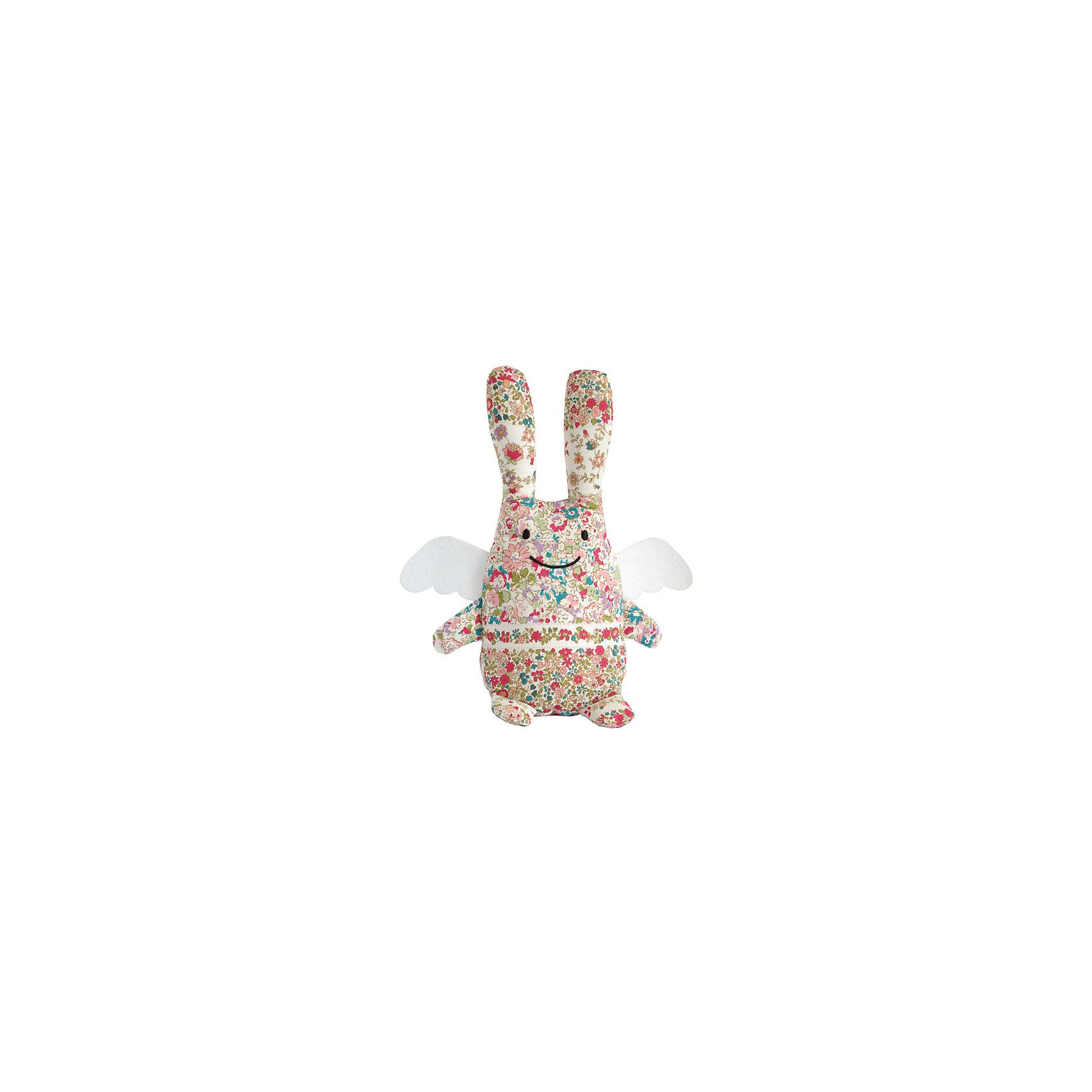 Мягкая игрушка Зайка с крылышками, музыкальный, 24см&#13;, TrousselierМягкие игрушки<br>Мягкая игрушка Зайка с крылышками, музыкальный, 24см, Trousselier<br><br>Характеристики:<br><br>• Размер: 24 см<br>• Материал: текстиль, полиэстер, хлопок<br>• Возраст: от 0 месяцев<br><br>Нежный разноцветный зайка с милыми крылышками станет другом для вашего малыша. Натуральный материал не вызывает аллергию и полностью безопасен для нежной кожи. Малыш сможет спать с зайкой, с первых дней своей жизни. А если малышу трудно будет уснуть, зайка споет ему нежную песенку.<br><br>Мягкая игрушка Зайка с крылышками, музыкальный, 24см, Trousselier можно купить в нашем интернет-магазине.<br><br>Ширина мм: 190<br>Глубина мм: 190<br>Высота мм: 90<br>Вес г: 290<br>Возраст от месяцев: -2147483648<br>Возраст до месяцев: 2147483647<br>Пол: Унисекс<br>Возраст: Детский<br>SKU: 4964810