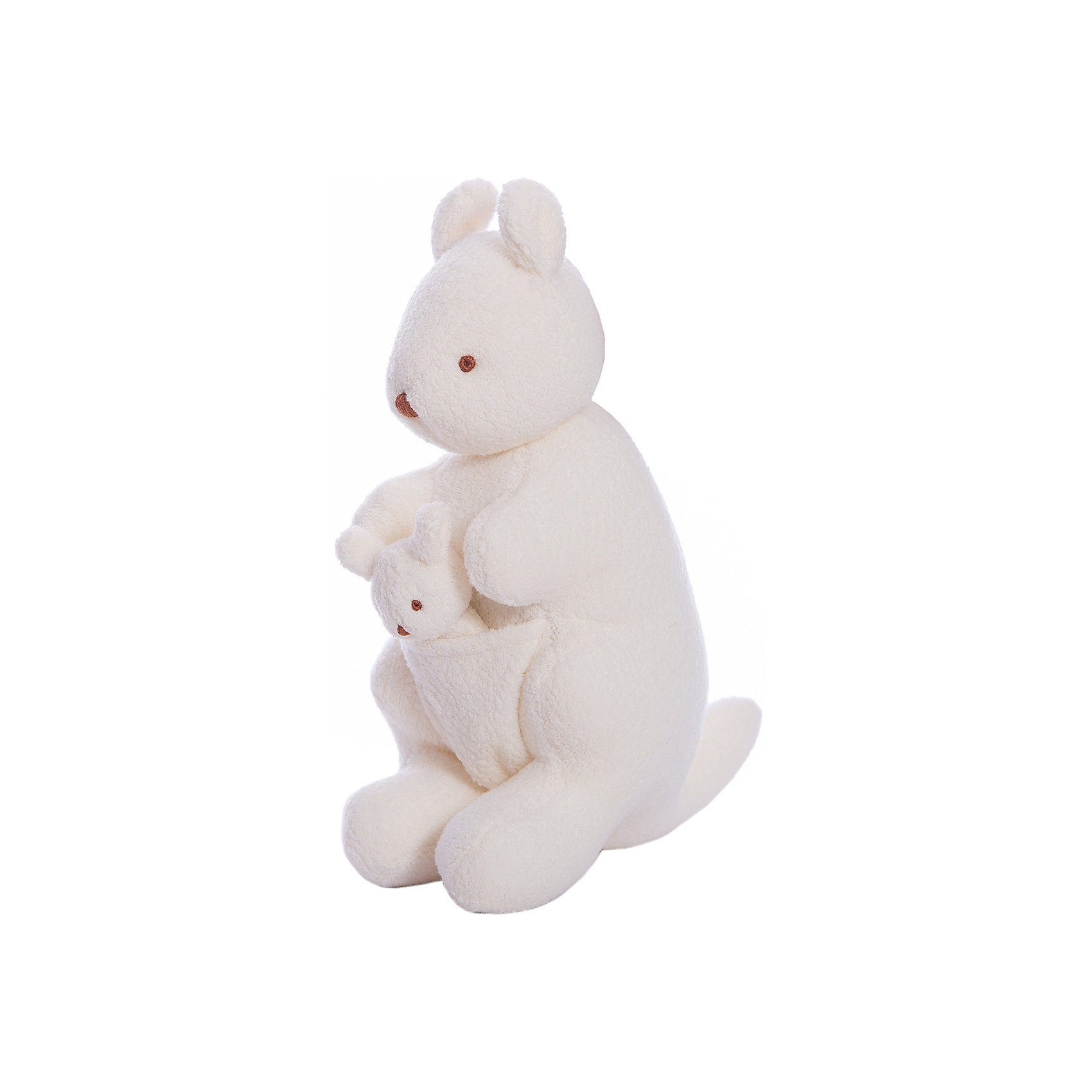 Мягкая игрушка Кенгуру, музыкальный, 20см&#13;, TrousselierМягкая игрушка Кенгуру, музыкальный, 20см, Trousselier (Трусельер).<br><br>Характеристики:<br><br>- Высота игрушки: 20 см.<br>- Материал: хлопковый велюр<br>- Мелодия: Колыбельная Иоганесс Брамс<br>- Уход: возможна ручная стирка игрушки<br><br>Мягкая игрушка представляет собой маму-кенгуру со своим детенышем, маленьким очаровательным кенгуренком, который уютно разместился у мамы в сумке. Игрушка выполнена в нежной цветовой гамме, материалом для ее изготовления послужил хлопковый велюр - очень мягкий и приятный на ощупь. Игрушка имеет музыкальный блок, который может воспроизводить нежную колыбельную мелодию, если потянуть за малыша-кенгуренка. Игрушка поможет вашему малышу погрузиться в мир снов и спокойнее спать. Французский бренд Trousselier (Трусельер) вот уже более 40 лет создает уникальные коллекции детских игрушек. Вся продукция изготавливается из натуральных материалов с соблюдением высоких европейских стандартов качества.<br><br>Мягкую игрушку Кенгуру, музыкальную, 20см, Trousselier (Трусельер) можно купить в нашем интернет-магазине.<br><br>Ширина мм: 150<br>Глубина мм: 150<br>Высота мм: 70<br>Вес г: 230<br>Возраст от месяцев: -2147483648<br>Возраст до месяцев: 2147483647<br>Пол: Унисекс<br>Возраст: Детский<br>SKU: 4964814