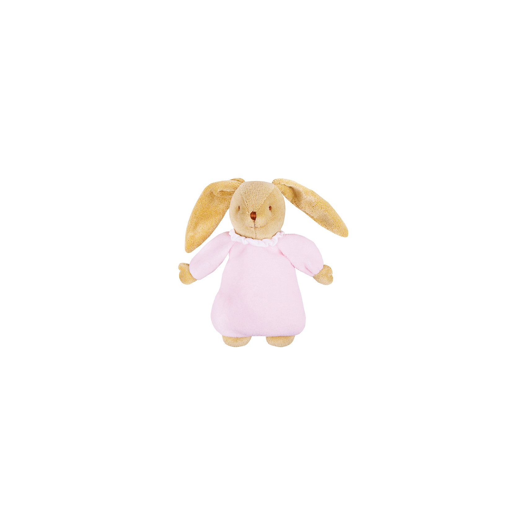 TROUSSELIER Мягкая игрушка Зайка с музыкой, розовый, 25см, Trousselier trousselier музыкальная мини шарманка elmer© trousselier