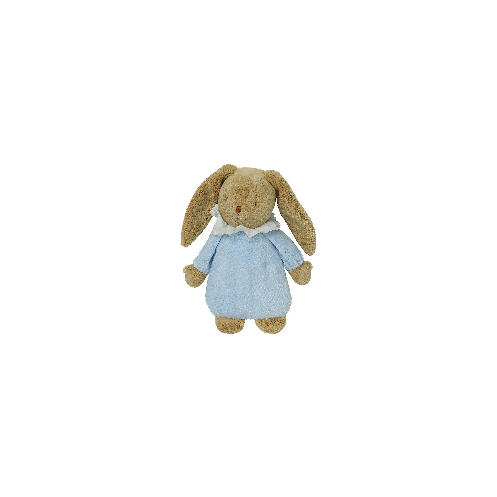 TROUSSELIER Мягкая игрушка Зайка с музыкой, голубой, 25см, Trousselier trousselier мягкая игрушка зайка с музыкой розовый 25см trousselier page 2