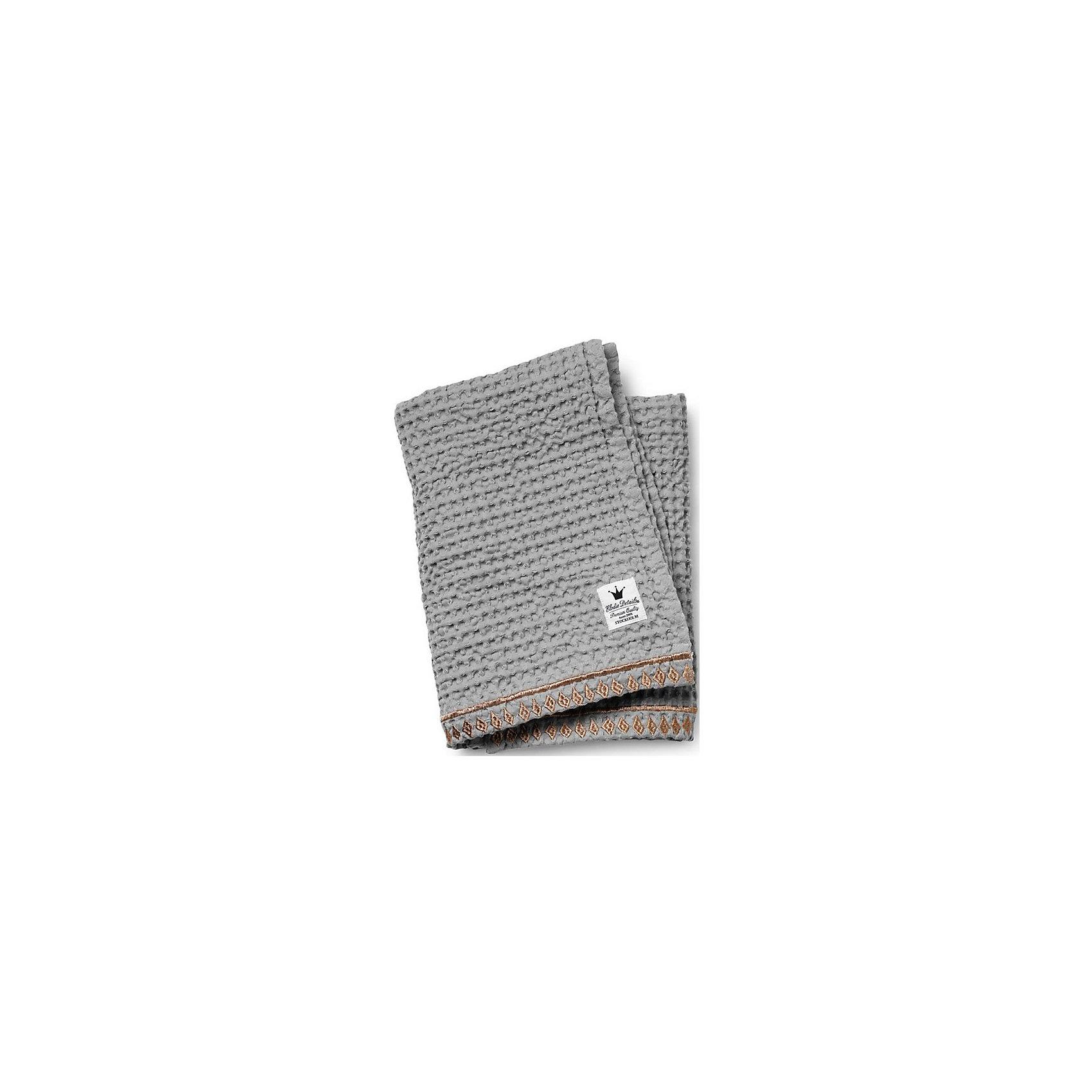 Плед Gilded Grey, Elodie Details (вафельный узор)Одеяла, пледы<br>Плед Gilded Grey, Elodie Details (Элоди Дитейлс) (вафельный узор)<br><br>Характеристики:<br><br>• стильный узор<br>• украшен вышивкой<br>• отлично сохраняет тепло и мягкость<br>• материал: 100% органический хлопок<br>• размер: 70х100 см<br><br>Плед Gilded Grey изготовлен из органического хлопка, который подарит вам уют и мягкость даже после многочисленных стирок. Плед имеет привлекательный вафельный узор и вышивку в марокканском стиле по краю. Использовать его удобно не только дома, но и на прогулке.<br><br>Плед Gilded Grey, Elodie Details (Элоди Дитейлс) (вафельный узор) вы можете купить в нашем интернет-магазине.<br><br>Ширина мм: 370<br>Глубина мм: 250<br>Высота мм: 40<br>Вес г: 430<br>Возраст от месяцев: 0<br>Возраст до месяцев: 36<br>Пол: Унисекс<br>Возраст: Детский<br>SKU: 4966106