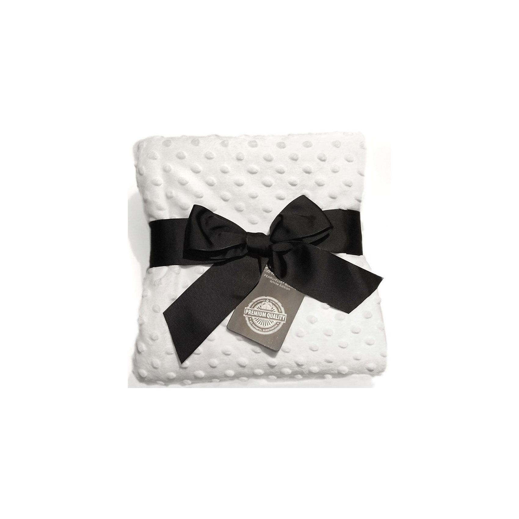 Плед White Edition, Elodie DetailsОдеяла, пледы<br>Плед Elodie Delails White Edition       Плед из двухслойной тканиидеально подойдет для коляски, будет очень удобен на пикнике, а также дома, когда малыша нужно укутать во что-то теплое.Приятный на ощупь материал пледа, сочетающий в себе мягкость плюша и нежность бархата, изготовлен по новейшим технологиям и обладает влагопоглощающей способностью. Важно отметить, что при многократной машинной стирке детское одеяло не изменит своего первоначального вида: не сядет и не потеряет прежней мягкости.       -размер: 70х100 см    -двойной слой влагопоглощающей ткани      -рекомендована машинная стирка       Коллекция White Edition выполнена в элегантном белом цвете, что дает широкое поле для стильных экспериментов. Несколько детских аксессуаров из одной серии не только будут полезны для малыша, но и выгодно выделят молодую маму на прогулке.        Коляски, конверты, нагрудники, клипсы для пустышек, сумки для мам - все это необходимые вещи повседневной жизни мамы и ребенка. Шведская компания Elodie detalis создает эти предметы уникальными и неповторимыми. Превосходное качество, стиль и практичность сделали компанию популярной во всем мире.<br><br>Ширина мм: 450<br>Глубина мм: 230<br>Высота мм: 30<br>Вес г: 380<br>Возраст от месяцев: 0<br>Возраст до месяцев: 36<br>Пол: Унисекс<br>Возраст: Детский<br>SKU: 4966114