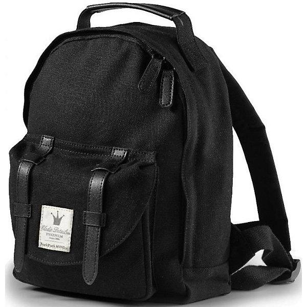 Рюкзак детский  Black Edition, Elodie DetailsДетские рюкзаки<br>Рюкзак;Elodie Details Black Edition  Стильный рюкзак для модных малышей и дошкольников. Идеально подходит для первых пикников или, к примеру, для транспортировки любимого плюшевого медведя в гости к бабушке. Главное - чтобы ваше новое приключение было стильным!;Высота 28 см, ширина 21 см, объем 7;л.  - в комплекте;сиденье из термо-материала, чтобы малышу было на чем сидеть во время отдыха; - вертикальный термо-карман на боковой части рюкзака, чтобы поддерживать температуру жидкости в бутылочке (тепло/холод); - мягкие регулируемые ремни; - магнитные замки, удерживающие плечевые ремни от скольжения; - с помощью молнии открываются сверху донизу, чтобы легко достать завтрак или другое содержимое;- оригинальные детали из кожи ; ;;;;<br><br>Ширина мм: 280<br>Глубина мм: 50<br>Высота мм: 260<br>Вес г: 291<br>Возраст от месяцев: 12<br>Возраст до месяцев: 72<br>Пол: Унисекс<br>Возраст: Детский<br>SKU: 4966132