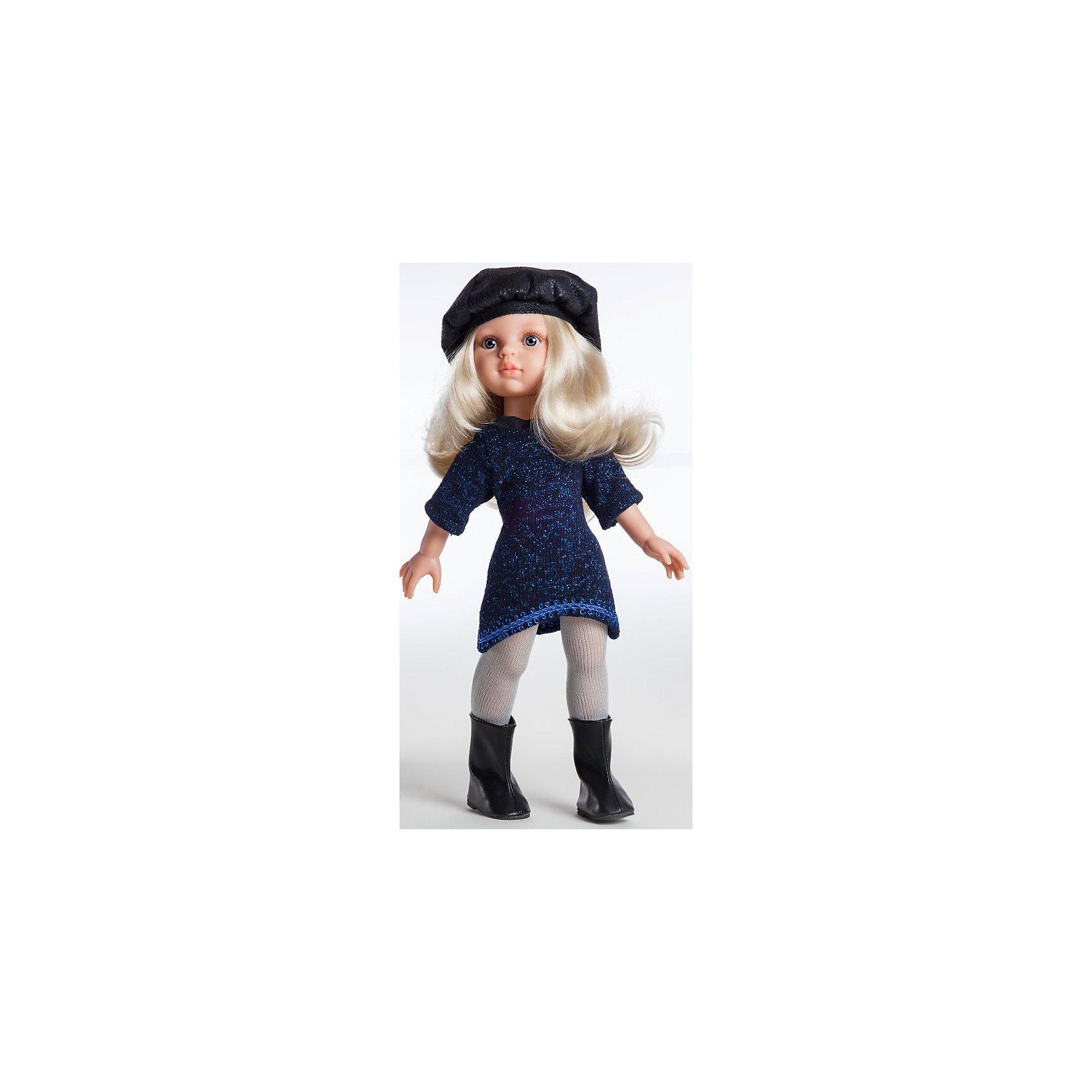 Кукла Клаудия, 32 см, Paola ReinaКлассические куклы<br>Кукла изготовлена из винила; глаза выполнены в виде кристалла из прозрачного твердого пластика; волосы сделаны из высококачественного нейлона.<br><br>Ширина мм: 110<br>Глубина мм: 230<br>Высота мм: 410<br>Вес г: 667<br>Возраст от месяцев: 36<br>Возраст до месяцев: 144<br>Пол: Женский<br>Возраст: Детский<br>SKU: 4966351