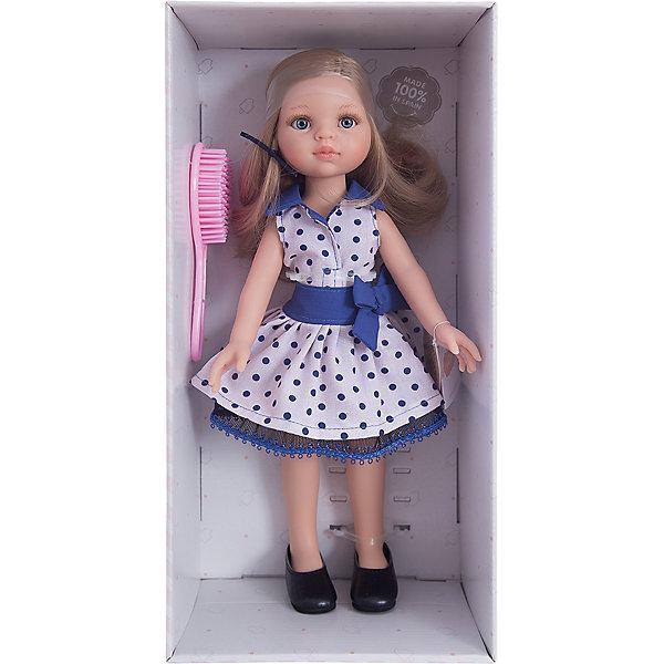 Кукла Карла, 32 см, Paola ReinaКуклы<br>Кукла изготовлена из винила; глаза выполнены в виде кристалла из прозрачного твердого пластика; волосы сделаны из высококачественного нейлона.<br>Ширина мм: 110; Глубина мм: 230; Высота мм: 410; Вес г: 667; Возраст от месяцев: 36; Возраст до месяцев: 144; Пол: Женский; Возраст: Детский; SKU: 4966353;