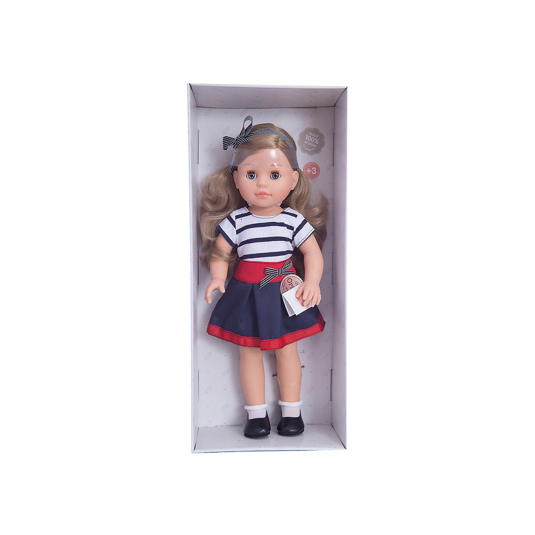 Кукла Эмма, 42 см, Paola ReinaКлассические куклы<br>Кукла изготовлена из винила; глаза выполнены в виде кристалла из прозрачного твердого пластика; волосы сделаны из высококачественного нейлона.<br><br>Ширина мм: 250<br>Глубина мм: 120<br>Высота мм: 500<br>Вес г: 1333<br>Возраст от месяцев: 36<br>Возраст до месяцев: 144<br>Пол: Женский<br>Возраст: Детский<br>SKU: 4966356