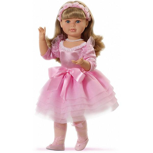 Кукла Балерина, 60 см, Paola ReinaКуклы<br>Кукла изготовлена из винила; глаза выполнены в виде кристалла из прозрачного твердого пластика; волосы сделаны из высококачественного нейлона.<br><br>Ширина мм: 340<br>Глубина мм: 340<br>Высота мм: 690<br>Вес г: 1750<br>Возраст от месяцев: 36<br>Возраст до месяцев: 144<br>Пол: Женский<br>Возраст: Детский<br>SKU: 4966357