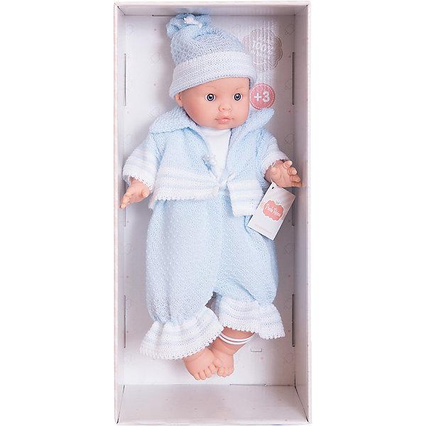 Кукла Энди, 32см, Paola ReinaКуклы<br>Кукла изготовлена из винила; глаза выполнены в виде кристалла из прозрачного твердого пластика; волосы сделаны из высококачественного нейлона.<br><br>Ширина мм: 230<br>Глубина мм: 230<br>Высота мм: 410<br>Вес г: 600<br>Возраст от месяцев: 36<br>Возраст до месяцев: 144<br>Пол: Женский<br>Возраст: Детский<br>SKU: 4966366