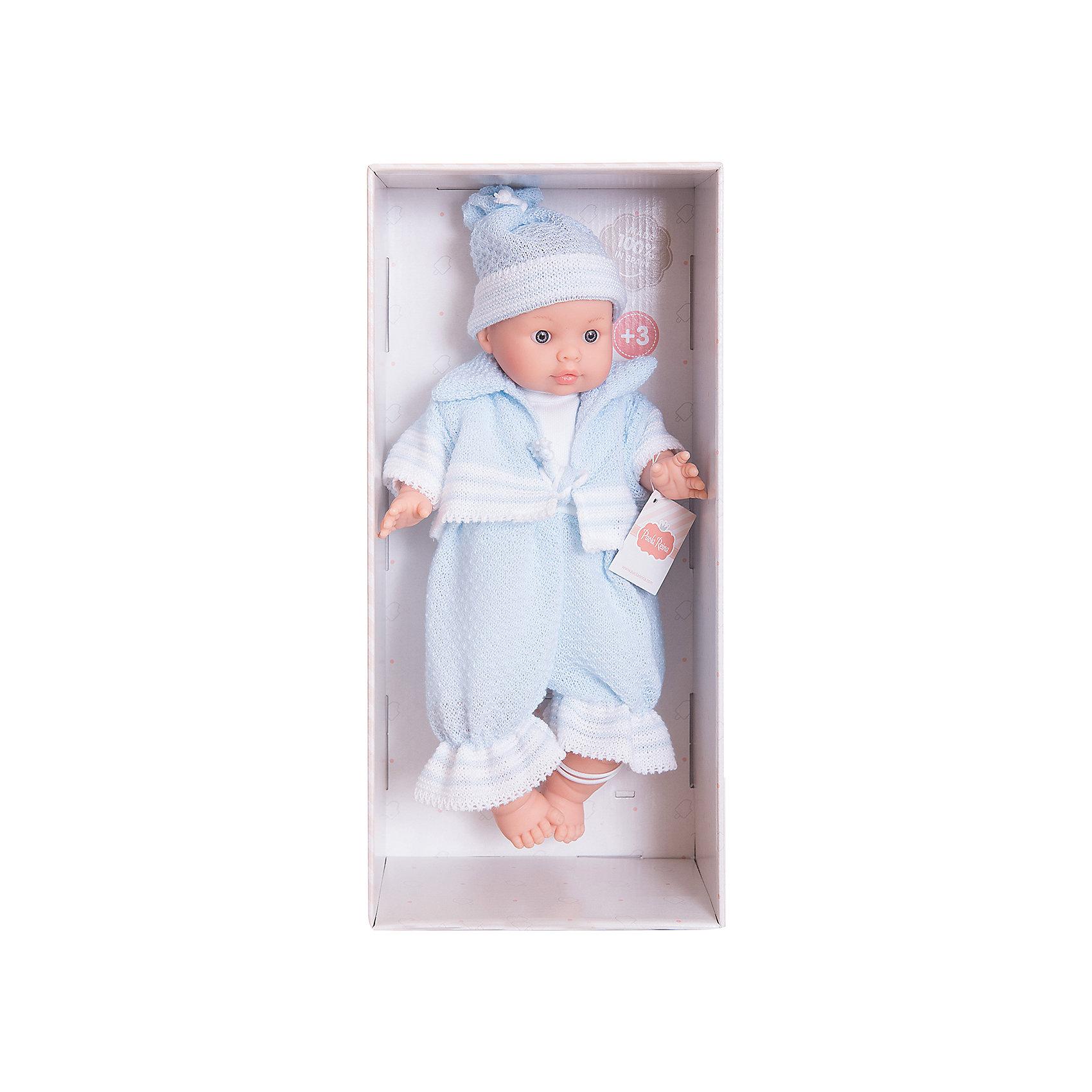 Кукла Энди, 32см, Paola ReinaКлассические куклы<br>Кукла изготовлена из винила; глаза выполнены в виде кристалла из прозрачного твердого пластика; волосы сделаны из высококачественного нейлона.<br><br>Ширина мм: 230<br>Глубина мм: 230<br>Высота мм: 410<br>Вес г: 600<br>Возраст от месяцев: 36<br>Возраст до месяцев: 144<br>Пол: Женский<br>Возраст: Детский<br>SKU: 4966366