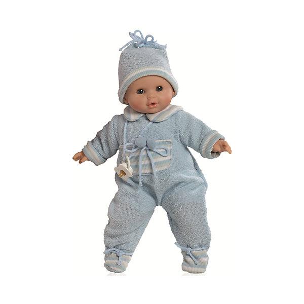 Кукла Алекс в теплой одежде, 36 см, Paola ReinaКуклы<br>Кукла изготовлена из винила; глаза выполнены в виде кристалла из прозрачного твердого пластика; волосы сделаны из высококачественного нейлона.<br><br>Ширина мм: 250<br>Глубина мм: 250<br>Высота мм: 420<br>Вес г: 1000<br>Возраст от месяцев: 36<br>Возраст до месяцев: 144<br>Пол: Женский<br>Возраст: Детский<br>SKU: 4966367