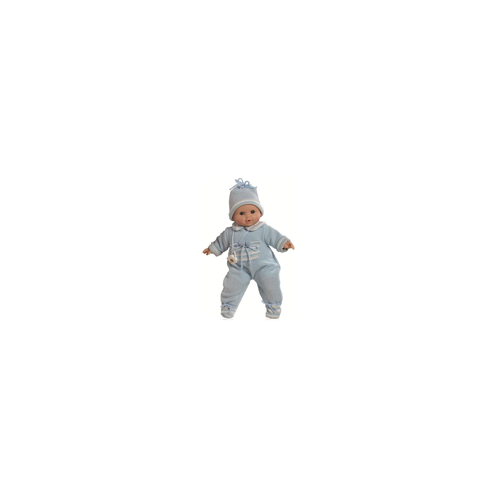 Кукла Алекс в теплой одежде, 36 см, Paola ReinaБренды кукол<br>Кукла изготовлена из винила; глаза выполнены в виде кристалла из прозрачного твердого пластика; волосы сделаны из высококачественного нейлона.<br><br>Ширина мм: 250<br>Глубина мм: 250<br>Высота мм: 420<br>Вес г: 1000<br>Возраст от месяцев: 36<br>Возраст до месяцев: 144<br>Пол: Женский<br>Возраст: Детский<br>SKU: 4966367