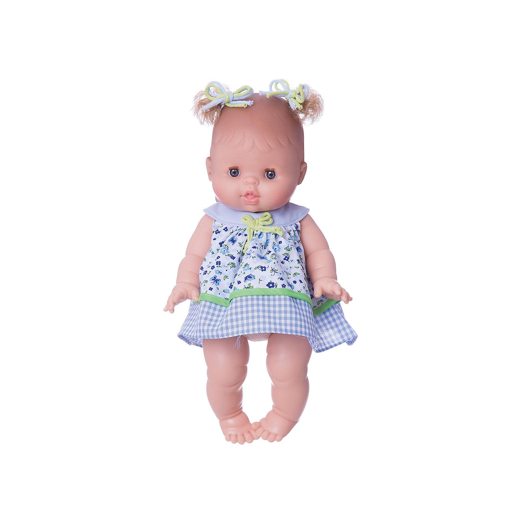 Кукла Горди Алисия, 34см (девочка), Paola ReinaКлассические куклы<br>Кукла изготовлена из винила; глаза выполнены в виде кристалла из прозрачного твердого пластика; волосы сделаны из высококачественного нейлона.<br><br>Ширина мм: 200<br>Глубина мм: 200<br>Высота мм: 310<br>Вес г: 750<br>Возраст от месяцев: 36<br>Возраст до месяцев: 144<br>Пол: Женский<br>Возраст: Детский<br>SKU: 4966372