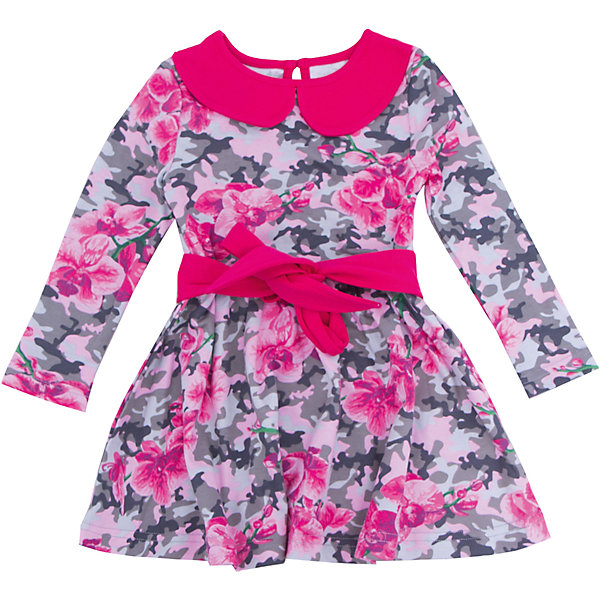 Нарядное платье для девочки АпрельПлатья и сарафаны<br>Платье для девочки Апрель.<br><br>Характеристики:<br><br>• состав: 100% хлопок<br>• цвет: малиновый<br>• коллекция: Осенний блюз<br><br>Очаровательное платье от известной марки Апрель изготовлено из качественного хлопка. Ткань очень прочная и не вызывает раздражения на коже. Платье застегивается на пуговицу сзади. Модель украшена поясом на талии и воротником контрастного цвета. Само платье имеет приятный цветочный узор. Такой наряд можно надеть и на праздник, и на прогулку!<br><br>Платье для девочки Апрель можно купить в нашем интернет-магазине.<br><br>Ширина мм: 236<br>Глубина мм: 16<br>Высота мм: 184<br>Вес г: 177<br>Цвет: розовый<br>Возраст от месяцев: 84<br>Возраст до месяцев: 96<br>Пол: Женский<br>Возраст: Детский<br>Размер: 128,92,122,116,110,104,98<br>SKU: 4966436