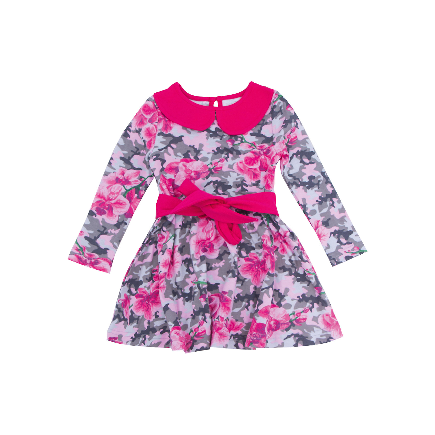 Нарядное платье для девочки АпрельПлатья и сарафаны<br>Платье для девочки Апрель.<br><br>Характеристики:<br><br>• состав: 100% хлопок<br>• цвет: малиновый<br>• коллекция: Осенний блюз<br><br>Очаровательное платье от известной марки Апрель изготовлено из качественного хлопка. Ткань очень прочная и не вызывает раздражения на коже. Платье застегивается на пуговицу сзади. Модель украшена поясом на талии и воротником контрастного цвета. Само платье имеет приятный цветочный узор. Такой наряд можно надеть и на праздник, и на прогулку!<br><br>Платье для девочки Апрель можно купить в нашем интернет-магазине.<br><br>Ширина мм: 236<br>Глубина мм: 16<br>Высота мм: 184<br>Вес г: 177<br>Цвет: розовый<br>Возраст от месяцев: 24<br>Возраст до месяцев: 36<br>Пол: Женский<br>Возраст: Детский<br>Размер: 98,128,92,104,110,116,122<br>SKU: 4966436