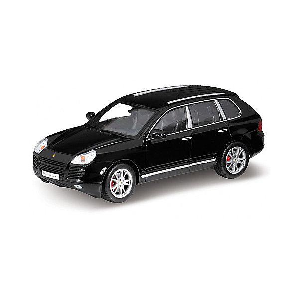 Модель машины 1:18 PORSCHE CAYENNE TURBO, WellyМашинки<br>Коллекционная модель машины Welly масштаба 1:18 PORSCHE CAYENNE TURBO. Функции: открываются передние двери, капот, багажник, поворотом руля поварачиваются передние колеса.  Обратите внимание, машина представлена в цветовом ассортименте, выбранный вариант в поставке не гарантирован.<br><br>Ширина мм: 160<br>Глубина мм: 140<br>Высота мм: 340<br>Вес г: 1377<br>Возраст от месяцев: 36<br>Возраст до месяцев: 192<br>Пол: Мужской<br>Возраст: Детский<br>SKU: 4966472