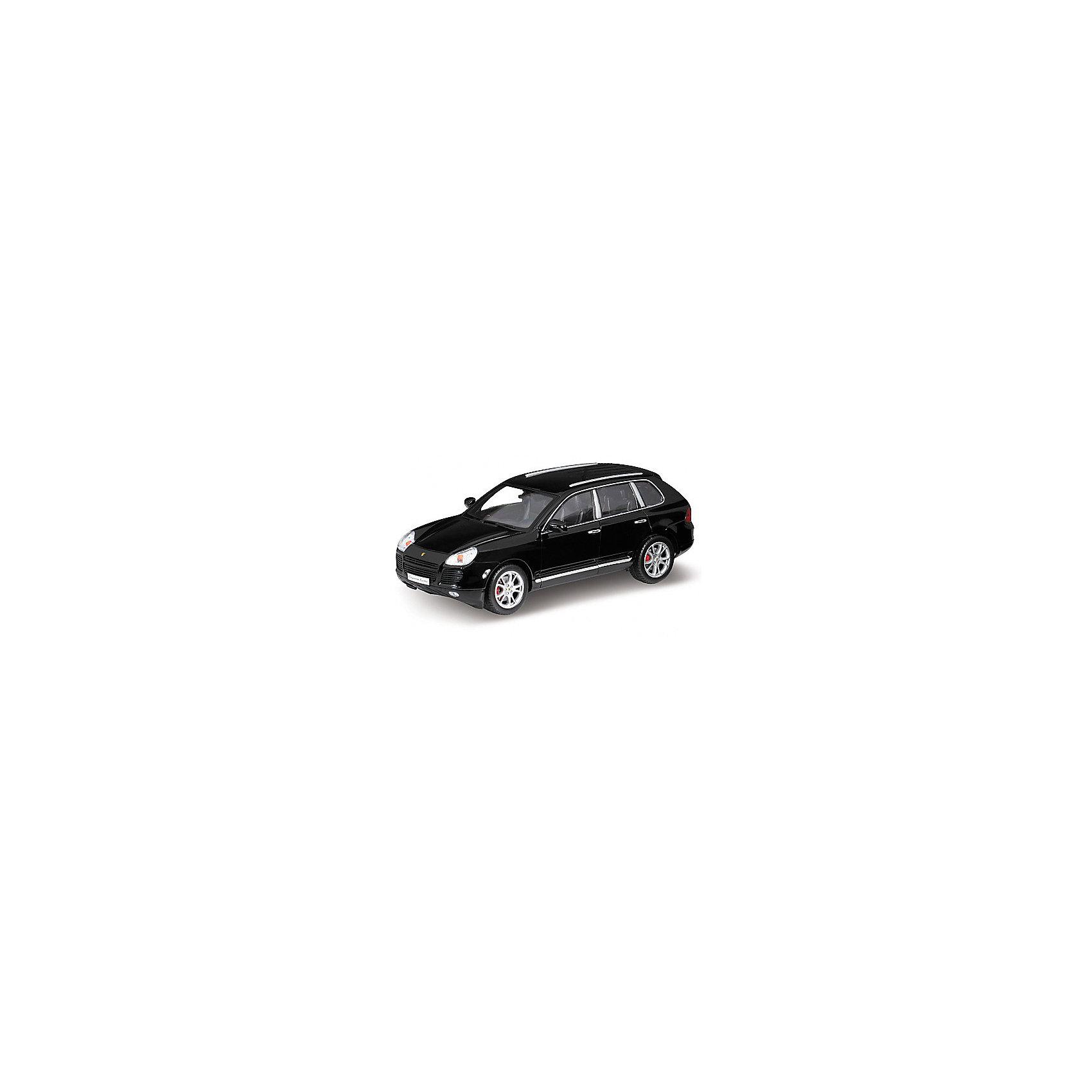 Модель машины 1:18 PORSCHE CAYENNE TURBO, WellyКоллекционные модели<br>Коллекционная модель машины Welly масштаба 1:18 PORSCHE CAYENNE TURBO. Функции: открываются передние двери, капот, багажник, поворотом руля поварачиваются передние колеса.  Обратите внимание, машина представлена в цветовом ассортименте, выбранный вариант в поставке не гарантирован.<br><br>Ширина мм: 160<br>Глубина мм: 140<br>Высота мм: 340<br>Вес г: 1377<br>Возраст от месяцев: 36<br>Возраст до месяцев: 192<br>Пол: Мужской<br>Возраст: Детский<br>SKU: 4966472