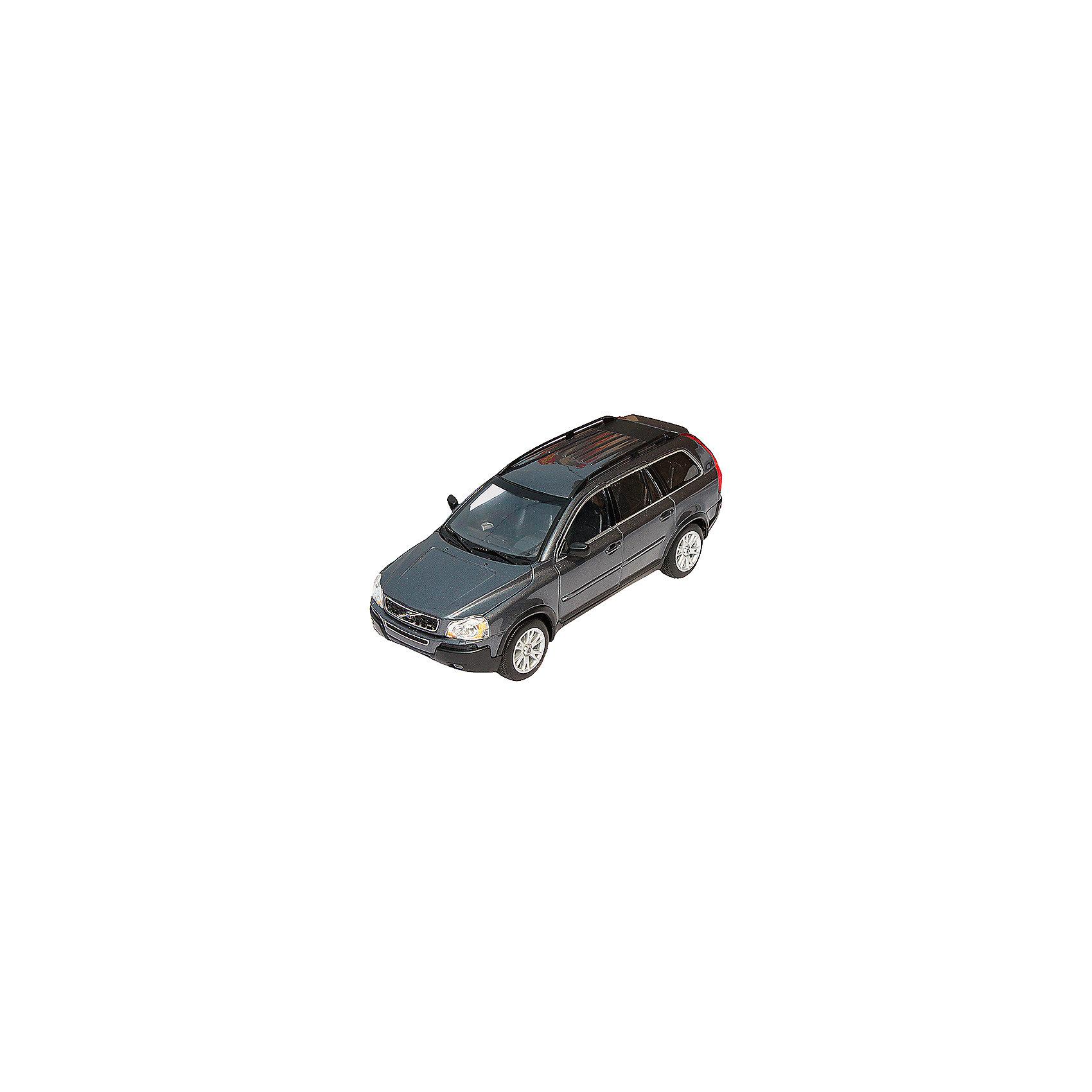Модель машины 1:18 VOLVO XC90, WellyКоллекционные модели<br>Коллекционная модель машины Welly масштаба 1:18 VOLVO XC90<br>Функции: открываются передние двери, капот, багажник, поворотом руля поворачиваются передние колеса.  Обратите внимание, машина представлена в цветовом ассортименте, выбранный вариант в поставке не гарантирован.<br><br>Ширина мм: 160<br>Глубина мм: 140<br>Высота мм: 340<br>Вес г: 1492<br>Возраст от месяцев: 36<br>Возраст до месяцев: 192<br>Пол: Мужской<br>Возраст: Детский<br>SKU: 4966473