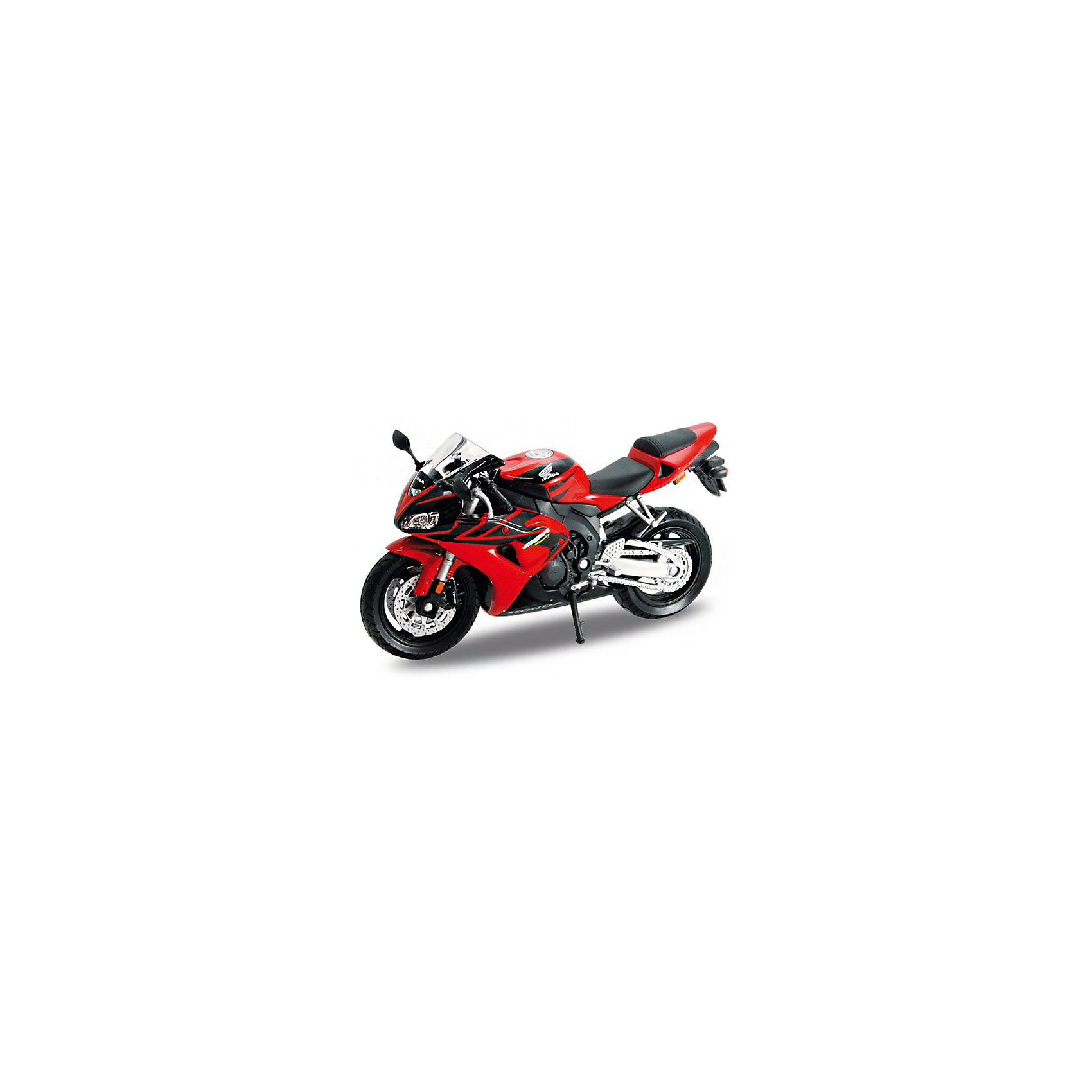 Модель мотоцикла 1:18 Honda CBR1000RR, WellyКоллекционные модели<br>Модель мотоцикла Welly масштаба 1:18 HONDA CBR1000RR выполнена в точном соответствии с оригиналом. Все коллекционные модели Велли очень точные, т.к. создаются по лицензии автопроизводителя.<br><br>Ширина мм: 70<br>Глубина мм: 110<br>Высота мм: 170<br>Вес г: 148<br>Возраст от месяцев: 36<br>Возраст до месяцев: 192<br>Пол: Мужской<br>Возраст: Детский<br>SKU: 4966474