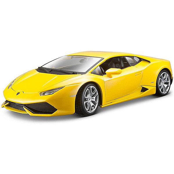 Модель машины 1:18 Lamborghini Huracan, WellyМашинки<br>Коллекционная модель автомобиля Welly Lamborghini Huracan, выполненная в масштабе 1:18. Это потрясающее авто было выпущено в 2015 году и пришло на замену другому полноприводному спортивному автомобилю компании Ламборджини – Gallardo. Обратите внимание, машина представлена в цветовом ассортименте, выбранный вариант в поставке не гарантирован.<br><br>Ширина мм: 160<br>Глубина мм: 140<br>Высота мм: 340<br>Вес г: 1052<br>Возраст от месяцев: 36<br>Возраст до месяцев: 192<br>Пол: Мужской<br>Возраст: Детский<br>SKU: 4966479