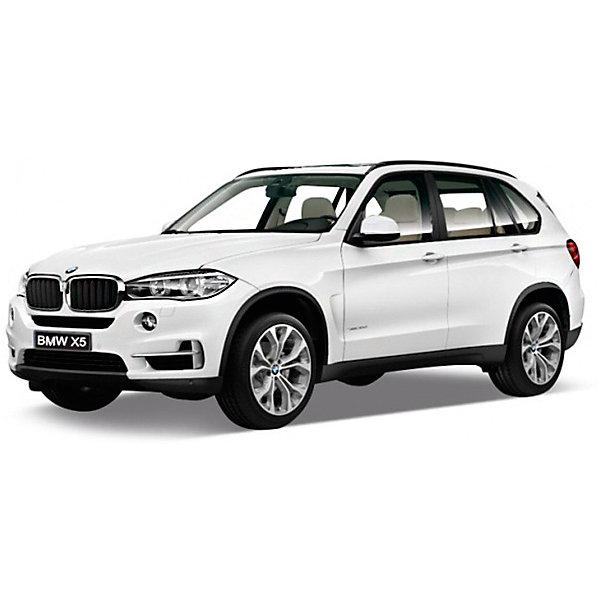 Модель машины 1:24 BMW X5, WellyМашинки<br>Коллекционная модель машины BMW X5 от Welly выполнена в точном соответствии с оригиналом. У машинки открывается капот и двери.<br>Эта модель машины создана на основе реальной модели БМВ X5, выпуск которой начался в 2013 году. Это вместительный, среднеразмерный кроссовер, способный преодолеть самые разные препятствия на дороге. Игрушка представлена в ассортименте, выбранный вариант в поставке не гарантирован.<br><br>Ширина мм: 110<br>Глубина мм: 100<br>Высота мм: 230<br>Вес г: 547<br>Возраст от месяцев: 36<br>Возраст до месяцев: 192<br>Пол: Мужской<br>Возраст: Детский<br>SKU: 4966492
