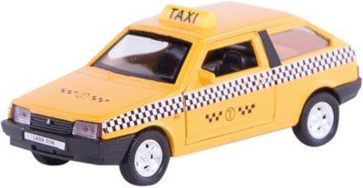 Модель машины 1:34-39 LADA 2108 ТАКСИ, Welly