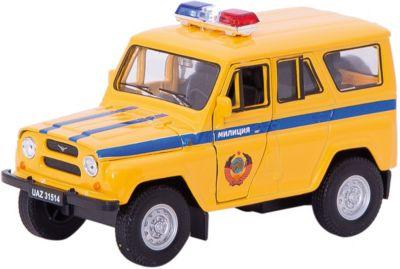Модель машины УАЗ 31514 МИЛИЦИЯ, Welly фото-1