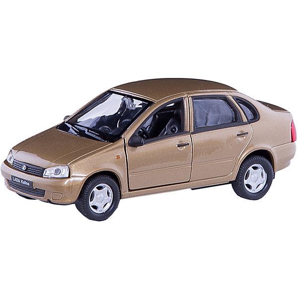 Модель машины 1:34-39 LADA Kalina, WellyМашинки<br>Коллекционная модель машины  масштаба 1:34-39 LADA Kalina. Функции: открываются передние двери, инерционный механизм.<br>Цвет кузова автомобиля представлен в ассортименте. Выбрать определенный цвет заранее не представляется возможным.<br>Ширина мм: 60; Глубина мм: 110; Высота мм: 150; Вес г: 184; Возраст от месяцев: 36; Возраст до месяцев: 192; Пол: Мужской; Возраст: Детский; SKU: 4966516;