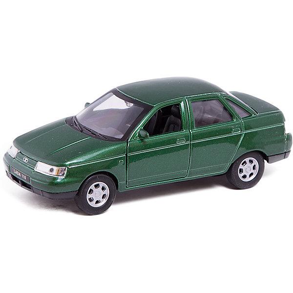 Модель машины 1:34-39 LADA 110, WellyМашинки<br>Коллекционная модель машины  масштаба 1:34-39 LADA 110. Функции: открываются передние двери, инерционный механизм.<br>Цвет кузова автомобиля представлен в ассортименте. Выбрать определенный цвет заранее не представляется возможным.<br><br>Ширина мм: 60<br>Глубина мм: 110<br>Высота мм: 150<br>Вес г: 160<br>Возраст от месяцев: 36<br>Возраст до месяцев: 192<br>Пол: Мужской<br>Возраст: Детский<br>SKU: 4966517