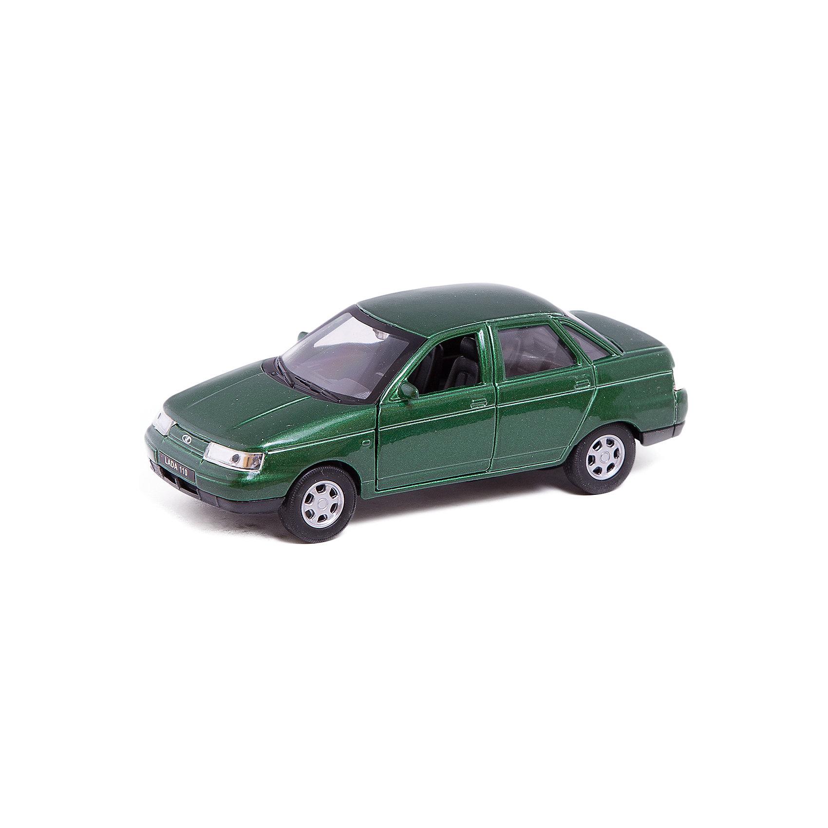 Модель машины 1:34-39 LADA 110, WellyКоллекционные модели<br>Коллекционная модель машины  масштаба 1:34-39 LADA 110. Функции: открываются передние двери, инерционный механизм.<br>Цвет кузова автомобиля представлен в ассортименте. Выбрать определенный цвет заранее не представляется возможным.<br><br>Ширина мм: 60<br>Глубина мм: 110<br>Высота мм: 150<br>Вес г: 160<br>Возраст от месяцев: 36<br>Возраст до месяцев: 192<br>Пол: Мужской<br>Возраст: Детский<br>SKU: 4966517