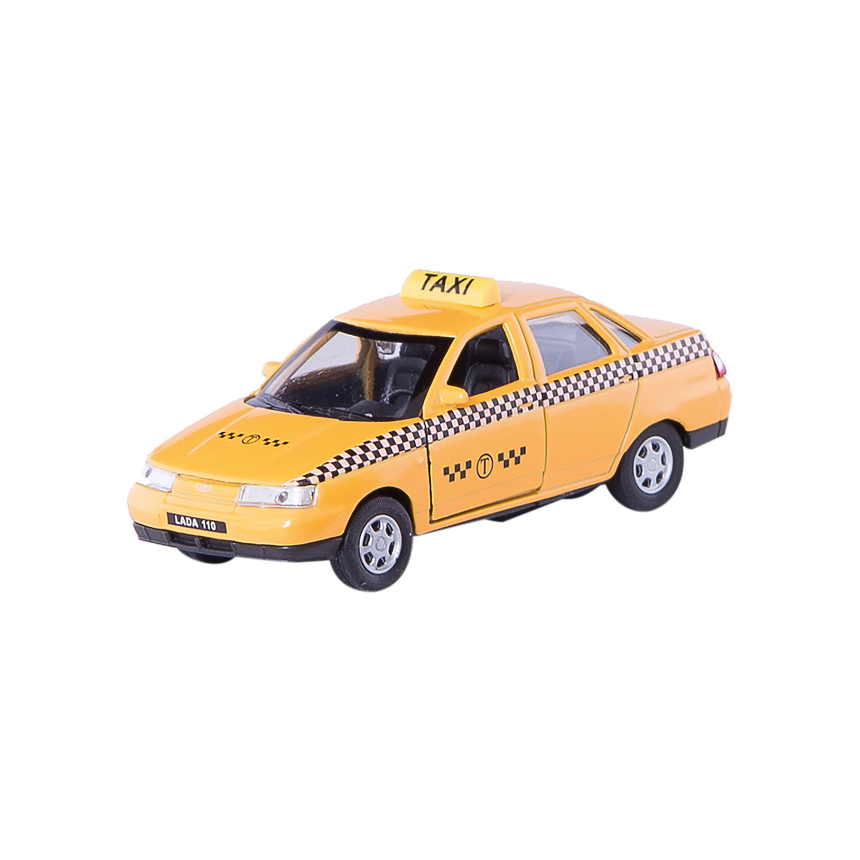 Модель машины 1:34-39 LADA 110 ТАКСИ, WellyКоллекционные модели<br>Коллекционная модель машины  масштаба 1:34-39 LADA 110 ТАКСИ. Функции: открываются передние двери, инерционный механизм.<br>Цвет кузова автомобиля представлен в ассортименте. Выбрать определенный цвет заранее не представляется возможным.<br><br>Ширина мм: 60<br>Глубина мм: 110<br>Высота мм: 150<br>Вес г: 161<br>Возраст от месяцев: 36<br>Возраст до месяцев: 192<br>Пол: Мужской<br>Возраст: Детский<br>SKU: 4966518