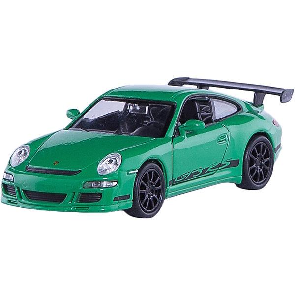 Модель машины 1:34-39 Porsche GT3 RS, WellyМашинки<br>Коллекционная модель масштаба 1:34 Porsche GT3 RS. Функции: открываются передние двери, инерционный механизм.<br>Цвет кузова автомобиля представлен в ассортименте. Выбрать определенный цвет заранее не представляется возможным.<br>Ширина мм: 60; Глубина мм: 110; Высота мм: 150; Вес г: 153; Возраст от месяцев: 36; Возраст до месяцев: 192; Пол: Мужской; Возраст: Детский; SKU: 4966520;