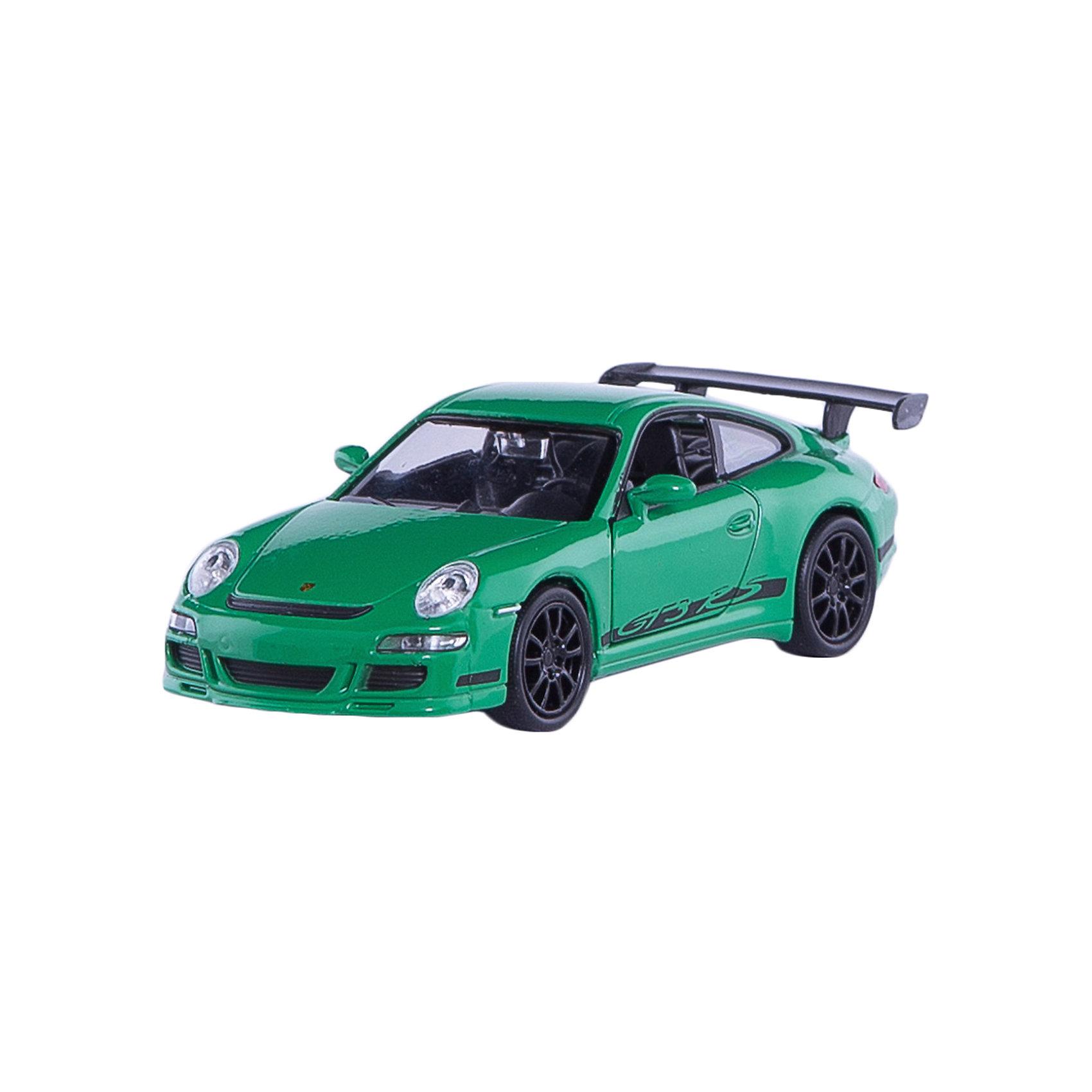 Модель машины 1:34-39 Porsche GT3 RS, WellyКоллекционные модели<br>Коллекционная модель масштаба 1:34 Porsche GT3 RS. Функции: открываются передние двери, инерционный механизм.<br>Цвет кузова автомобиля представлен в ассортименте. Выбрать определенный цвет заранее не представляется возможным.<br><br>Ширина мм: 60<br>Глубина мм: 110<br>Высота мм: 150<br>Вес г: 153<br>Возраст от месяцев: 36<br>Возраст до месяцев: 192<br>Пол: Мужской<br>Возраст: Детский<br>SKU: 4966520