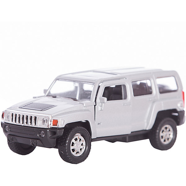 Модель машины 1:34-39 Hummer H3, WellyМашинки<br>Коллекционная модель машины масштаба 1:34-39 Hummer H3. Функции: открываются передние двери, инерционный механизм.<br>Цвет кузова автомобиля представлен в ассортименте. Выбрать определенный цвет заранее не представляется возможным.<br><br>Ширина мм: 60<br>Глубина мм: 110<br>Высота мм: 150<br>Вес г: 159<br>Возраст от месяцев: 36<br>Возраст до месяцев: 192<br>Пол: Мужской<br>Возраст: Детский<br>SKU: 4966525