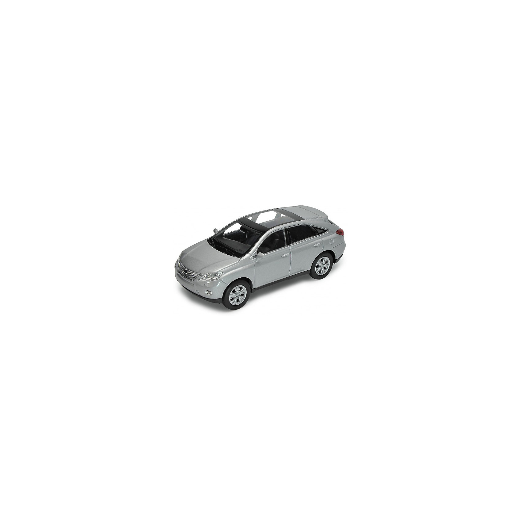 Welly Модель машины 1:34-39 Lexus RX450H, Welly автомобиль welly nissan gtr 1 34 39 белый 43632