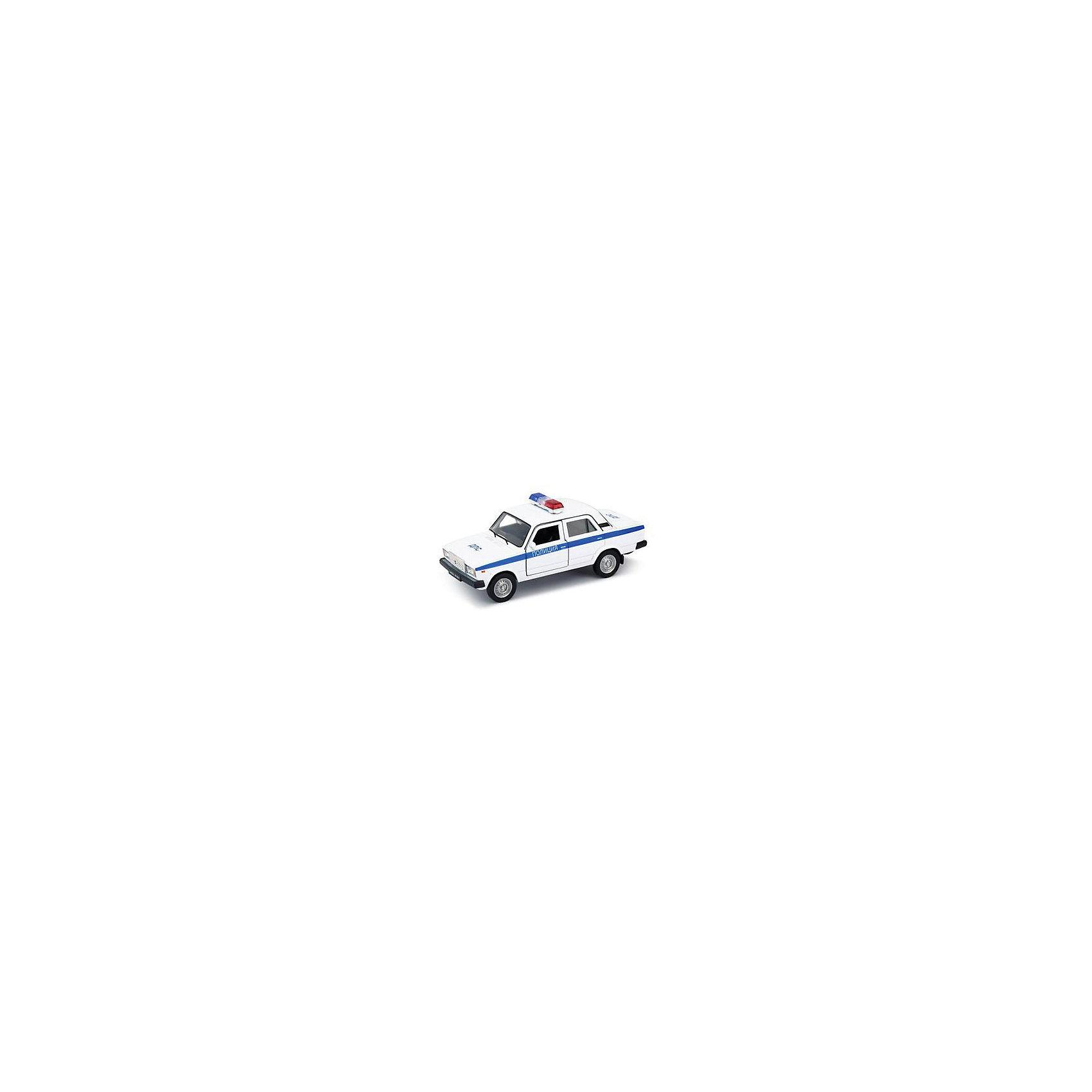 Модель машины  1:34-39 LADA 2107 ПОЛИЦИЯ, WellyКоллекционные модели<br>Коллекционная модель машины Welly  1:34-39 LADA 2107 ПОЛИЦИЯ.<br>Цвет кузова автомобиля представлен в ассортименте. Выбрать определенный цвет заранее не представляется возможным.<br><br>Ширина мм: 60<br>Глубина мм: 115<br>Высота мм: 145<br>Вес г: 167<br>Возраст от месяцев: 36<br>Возраст до месяцев: 192<br>Пол: Мужской<br>Возраст: Детский<br>SKU: 4966530