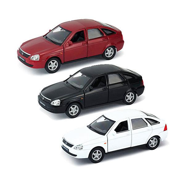 Модель машины  1:34-39 LADA PRIORA, WellyМашинки<br>Коллекционная модель машины Welly 1:34-39 LADA PRIORA.<br>Цвет кузова автомобиля представлен в ассортименте. Выбрать определенный цвет заранее не представляется возможным.<br><br>Ширина мм: 60<br>Глубина мм: 115<br>Высота мм: 145<br>Вес г: 161<br>Возраст от месяцев: 36<br>Возраст до месяцев: 192<br>Пол: Мужской<br>Возраст: Детский<br>SKU: 4966532