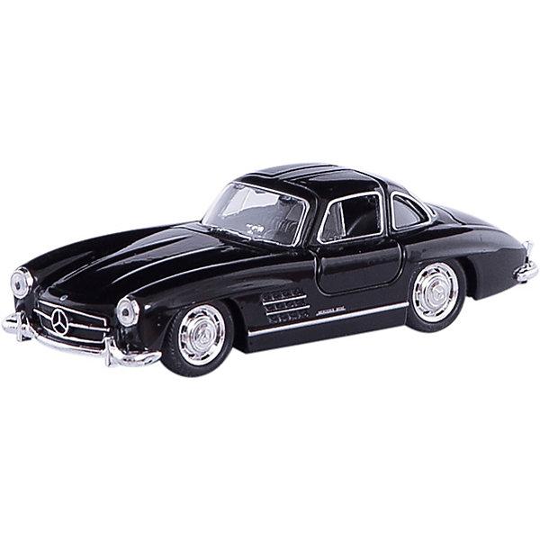 Модель винтажной машины 1:34-39 Mercedes-Benz 300SL, WellyМашинки<br>Коллекционная модель винтажной машины Welly 1:34-39 Mercedes-Benz 300SL. Функции: открываются передние двери, инерционный механизм.<br>Цвет кузова автомобиля представлен в ассортименте. Выбрать определенный цвет заранее не представляется возможным.<br>Ширина мм: 60; Глубина мм: 110; Высота мм: 150; Вес г: 133; Возраст от месяцев: 36; Возраст до месяцев: 192; Пол: Мужской; Возраст: Детский; SKU: 4966539;