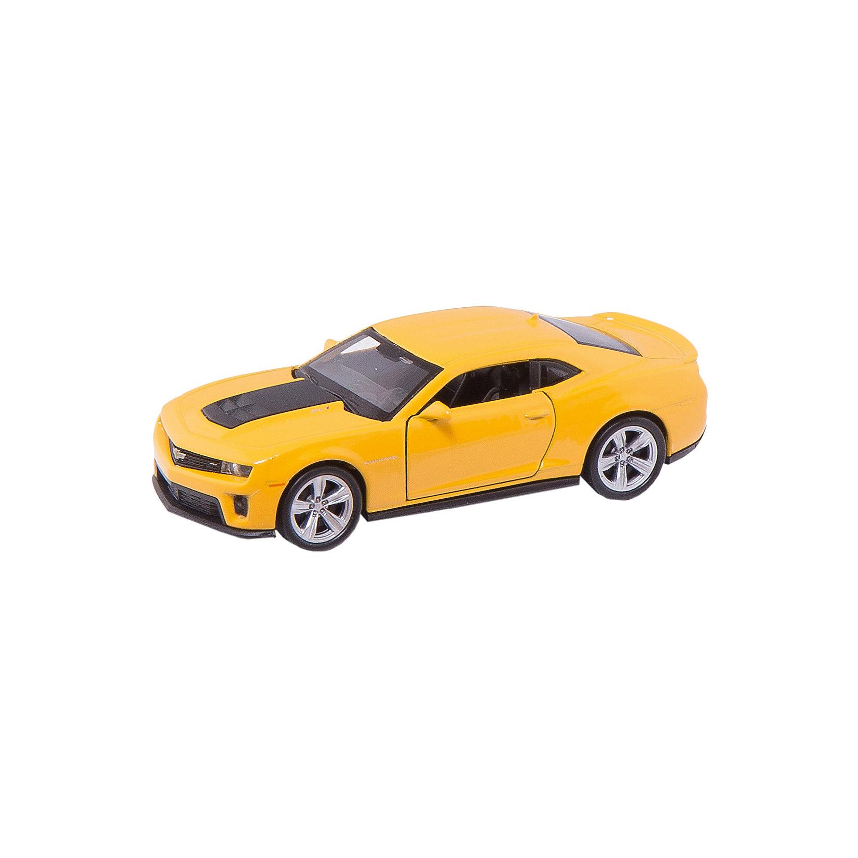 Модель машины 1:34-39 Chevrolet Camaro ZL1, WellyКоллекционные модели<br>Коллекционная машинка Welly представлена в виде модели масштабом 1:34-39, которая является точной копией автомобиля Chevrolet Camaro ZL1. Цвет кузова автомобиля представлен в ассортименте. Выбрать определенный цвет заранее не представляется возможным.<br><br>Ширина мм: 145<br>Глубина мм: 110<br>Высота мм: 60<br>Вес г: 142<br>Возраст от месяцев: 36<br>Возраст до месяцев: 192<br>Пол: Мужской<br>Возраст: Детский<br>SKU: 4966541