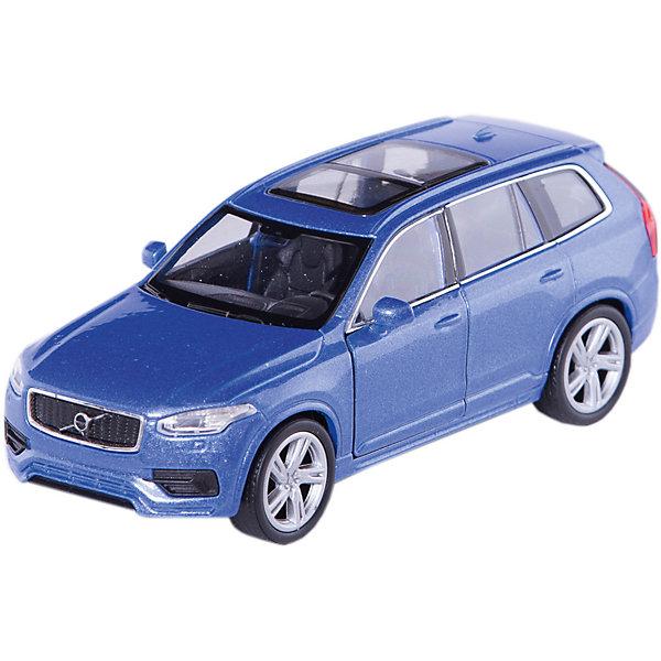 Модель машины 1:34-39 Volvo XC90, WellyМашинки<br>Коллекционная модель автомобиля Volvo XC90. Машинка спроектирована в масштабе 1:34-39. Она обладает инерционным механизмом колес. Модель очень реалистична и выполнена из металла с некоторыми элементами, сделанными из пластика. Передние дверцы автомобиля открываются. Все мелкие детали очень точно исполнены и аккуратно окрашены. Корпус игрушки крепкий и надежный.  Цвет кузова автомобиля представлен в ассортименте. Выбрать определенный цвет заранее не представляется возможным.<br><br>Ширина мм: 60<br>Глубина мм: 110<br>Высота мм: 150<br>Вес г: 160<br>Возраст от месяцев: 36<br>Возраст до месяцев: 192<br>Пол: Мужской<br>Возраст: Детский<br>SKU: 4966544