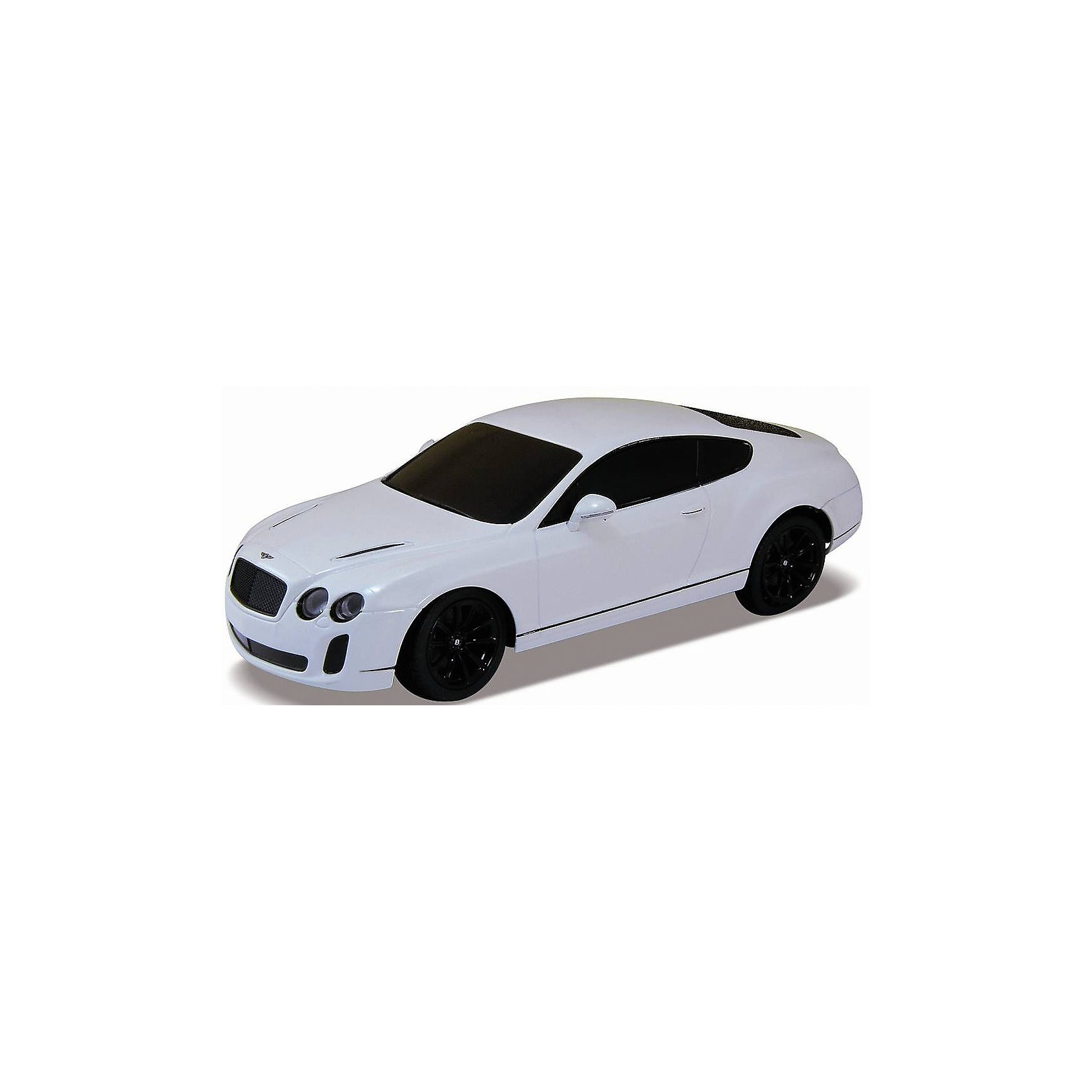 Welly Модель машины 1:24 Bentley Continental Supersports, р/у, Welly welly welly гараж 3 машины и вертолет