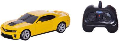 Модель машины 1:24 Chevrolet Camaro ZL1, р/у, Welly фото-1