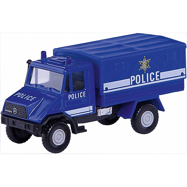 Модель грузовика с кузовом Полиция, WellyМашинки<br>Коллекционная модель полицейского грузовика от Welly. Корпус автомобиля выполнен из пластика, колеса – из резины.<br>Ширина мм: 170; Глубина мм: 80; Высота мм: 60; Вес г: 143; Возраст от месяцев: 36; Возраст до месяцев: 192; Пол: Мужской; Возраст: Детский; SKU: 4966563;