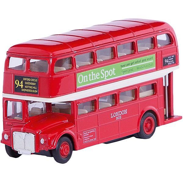 Модель автобуса  London Bus, WellyМашинки<br>Модель автобуса от производителя Welly 1:60-64 London Bus<br>Функции: инерционный механизм.<br>Цвет кузова автомобиля представлен в ассортименте. Выбрать определенный цвет заранее не представляется возможным.<br>Ширина мм: 45; Глубина мм: 130; Высота мм: 160; Вес г: 264; Возраст от месяцев: 36; Возраст до месяцев: 192; Пол: Мужской; Возраст: Детский; SKU: 4966567;