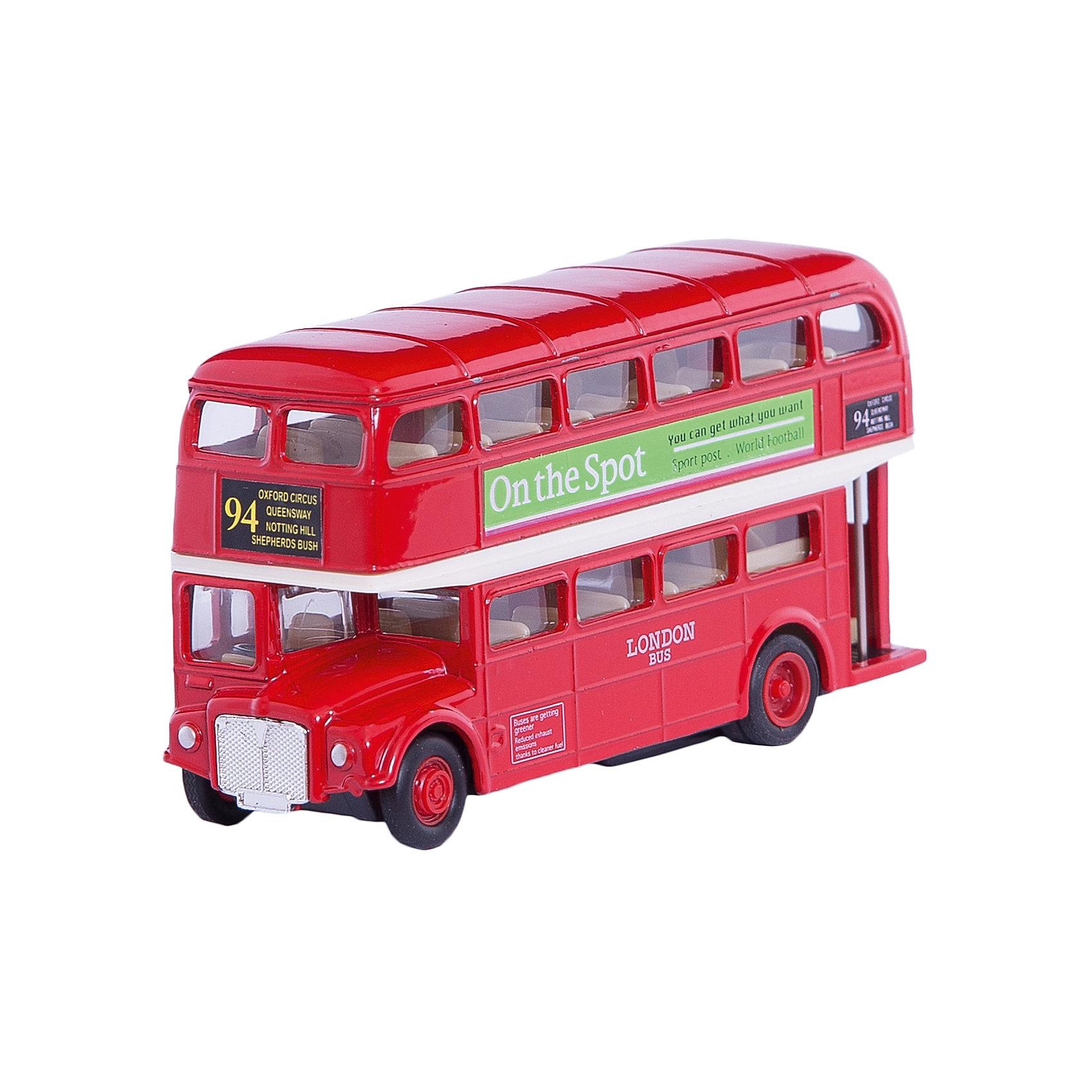Модель автобуса  London Bus, WellyКоллекционные модели<br>Модель автобуса от производителя Welly 1:60-64 London Bus<br>Функции: инерционный механизм.<br>Цвет кузова автомобиля представлен в ассортименте. Выбрать определенный цвет заранее не представляется возможным.<br><br>Ширина мм: 45<br>Глубина мм: 130<br>Высота мм: 160<br>Вес г: 264<br>Возраст от месяцев: 36<br>Возраст до месяцев: 192<br>Пол: Мужской<br>Возраст: Детский<br>SKU: 4966567