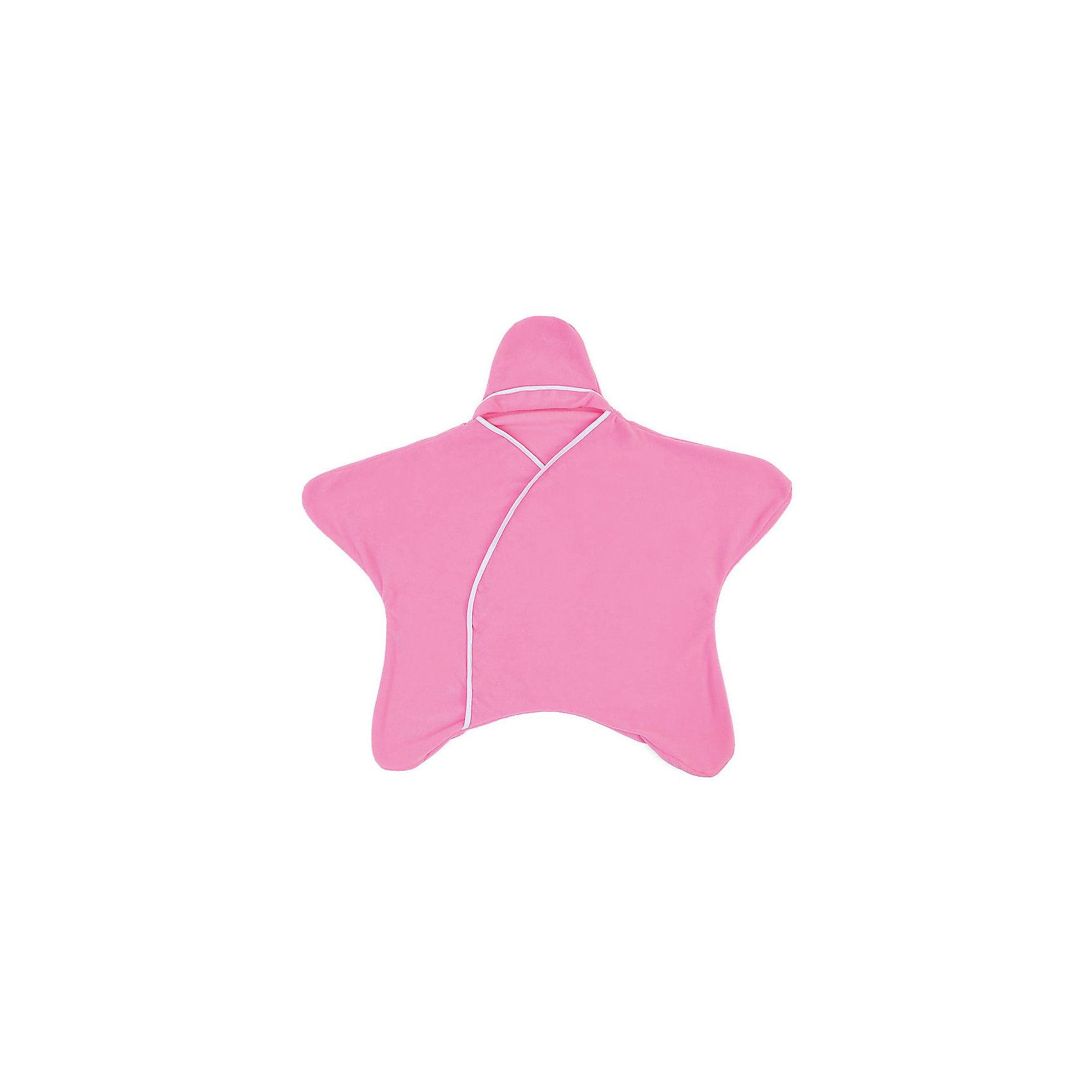 Конверт 5 в 1 Twinklbaby, розовая пантераПеленание<br>Конверт 5 в 1 Twinklbaby специально разработан для родителей, которые ценят качественные вещи и хотят подарить своему чаду максимальный комфорт на первых этапах его жизни. Уникальный дизайн конверта для новорожденных 5 в 1 «Заверни и иди» позволяет использовать его также в качестве гигроскопичной пеленки, уютного комбинезона, пледа или коврика для игр. Особенность изделия – отсутствие каких-либо застежек, благодаря чему быстро укутать кроху не составляет проблем. Специальная форма не сковывает движений малыша, предоставляя его ручкам и ножкам полную свободу.<br><br>Характеристики: <br><br>- цвет: розовый;                                                                                                                                             - коллекция: заверни и иди;                                                                                                                                                                                                                                                                                                                                                                                                                                                         - возраст: от 1-го месяца и выше;                                                                                                                     - рост: до 80 см;                                                                                                                                                           - пол: универсальный;<br>- совместимость: с 5-титочечными страховочными ремнями — можно использовать в детских колясках и автолюльках;                                                                                                                                                     - применение: все сезоны (используется как верхняя одежда);                                                             