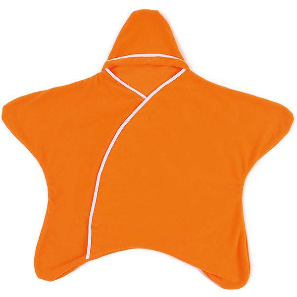 Конверт 5 в 1 Twinklbaby, заводной апельсинДетские конверты<br>Конверт 5 в 1 торговой марки Twinklbaby «Заверни и иди» соединяет в себе конверт, комбинезон, пеленку, плед и игровой коврик. Изделие поможет сэкономить место в маминой сумке и денежные средства семьи. Модель изготовлена  из мягкого и легкого материала,  обладающая хорошей пропускной способностью и практичностью. Собрать малыша на прогулку, в гости или в поликлинику теперь не составит никакого труда, ведь у конверта 5 в 1 нет пуговиц, застежек и молний. Он не сковывает движения ребенка, подходит и мальчикам,  и девочкам. Конверт 5 в 1 торговой марки Twinklbaby «Заверни и иди» будет отличным подарком,  как для Вашего малыша, так и для Вас.             <br><br>Характеристики: <br><br>- цвет: оранжевый;                                                                                                                                             - коллекция: заверни и иди;                                                                                                                                                                                                                                                                                                                                                                                                                                                         - возраст: от 1-го месяца и выше;                                                                                                                     - рост: до 80 см;                                                                                                                                                           - пол: универсальный;<br>- совместимость: с 5-титочечными страховочными ремнями — можно использовать в детских колясках и автолюльках;                                                                                                                                                     - применение: 