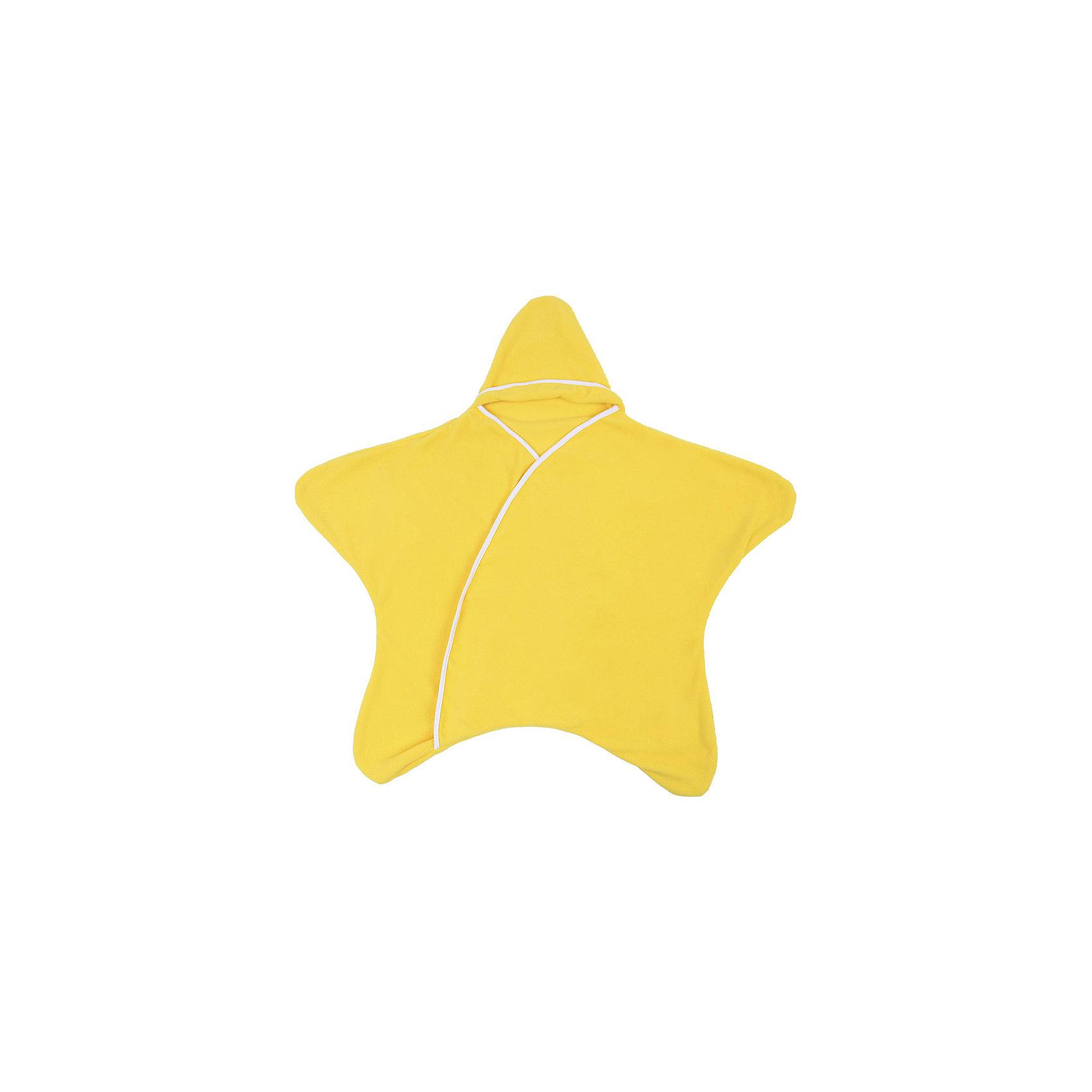 Конверт 5 в 1 Twinklbaby, спелый бананКонверт 5 в 1 «Заверни и иди» выполняет функцию конверта, комбинезона, пеленки, пледа и игрового коврика, что дает возможность экономить денежные средства и место в маминой сумке,  заменяя сразу несколько вещей. Изделие будет прекрасным вариантом для подарка малышу и его родителям. Удобно брать с собой на прогулку, в дорогу, в гости или поликлинику. Модель не сковывает движения малыша, обладает прекрасными дышащими свойствами и пропускной способностью. Подходит как мальчикам, так и девочкам.<br><br>Характеристики: <br><br>- цвет: желтый;                                                                                                                                             - коллекция: заверни и иди;                                                                                                                                                                                                                                                                                                                                                                                                                                                         - возраст: от 1-го месяца и выше;                                                                                                                     - рост: до 80 см;                                                                                                                                                           - пол: универсальный;<br>- совместимость: с 5-титочечными страховочными ремнями — можно использовать в детских колясках и автолюльках;                                                                                                                                                     - применение: все сезоны (используется как верхняя одежда);                                                                                                                                                  